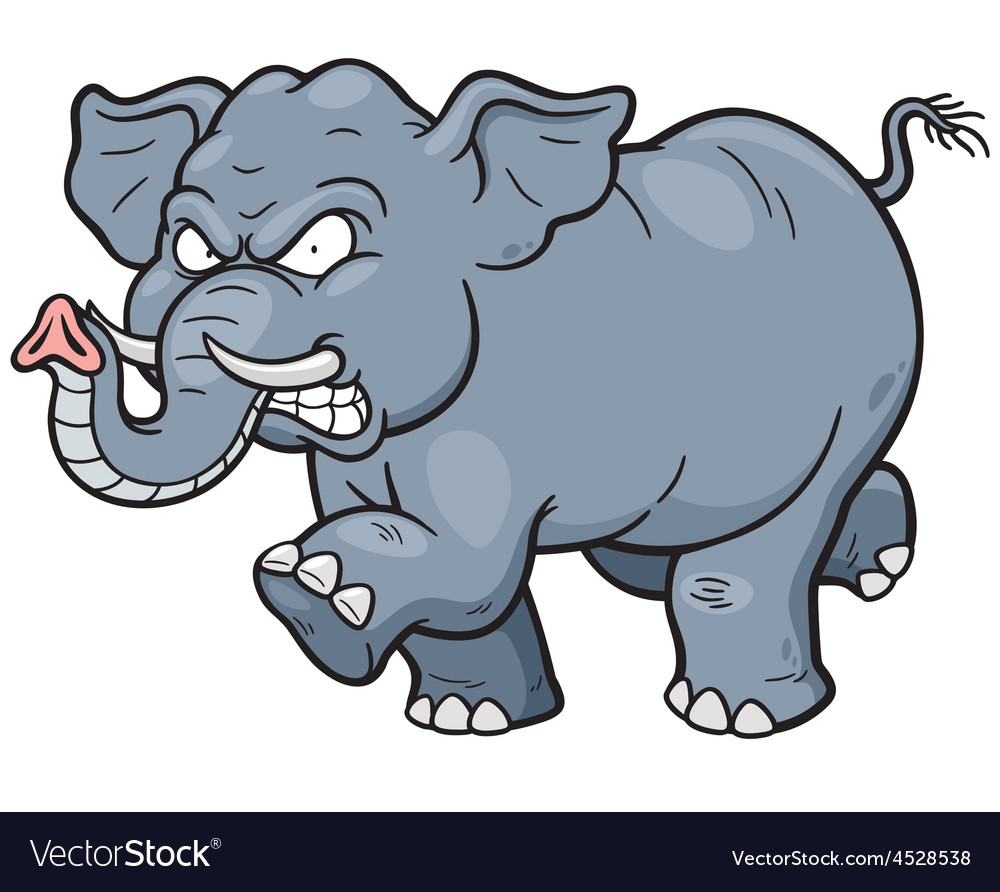 Elephant vector | Price: 3 Credit (USD $3)