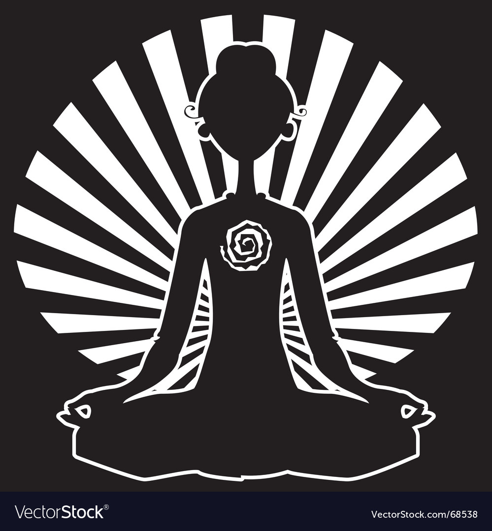 Yoga shape vector | Price: 1 Credit (USD $1)