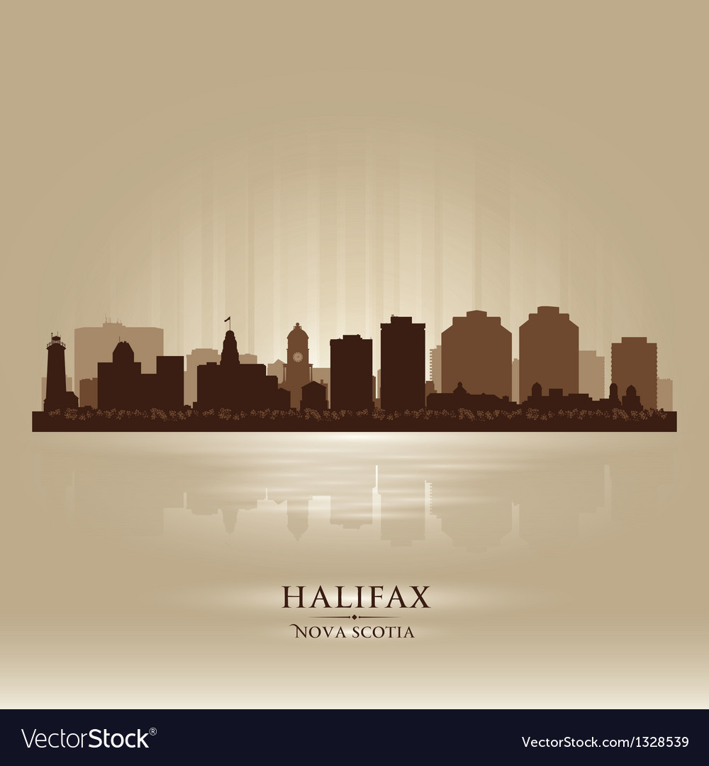 Halifax canada skyline city silhouette vector | Price: 1 Credit (USD $1)