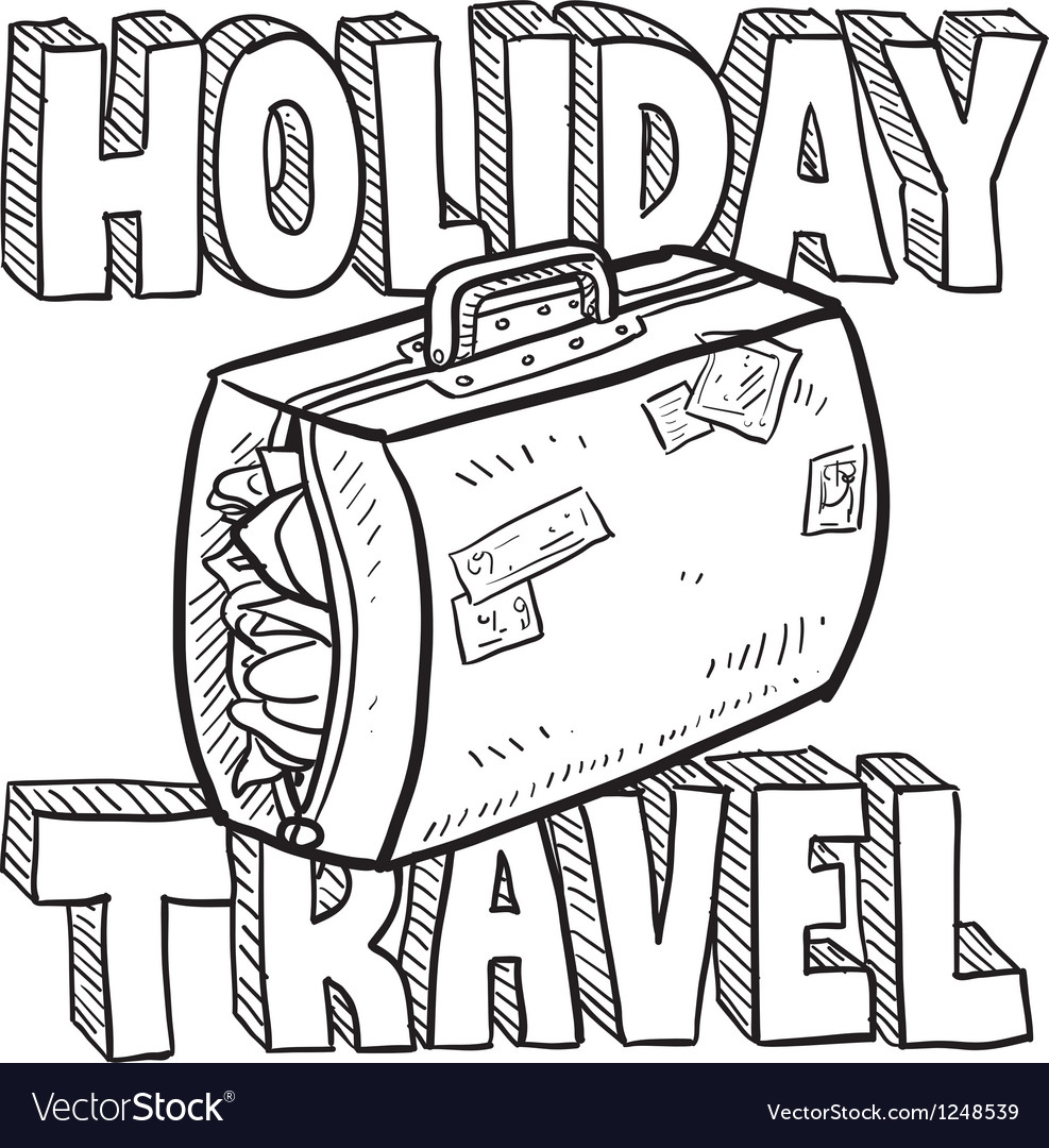Holiday and travel vector | Price: 1 Credit (USD $1)