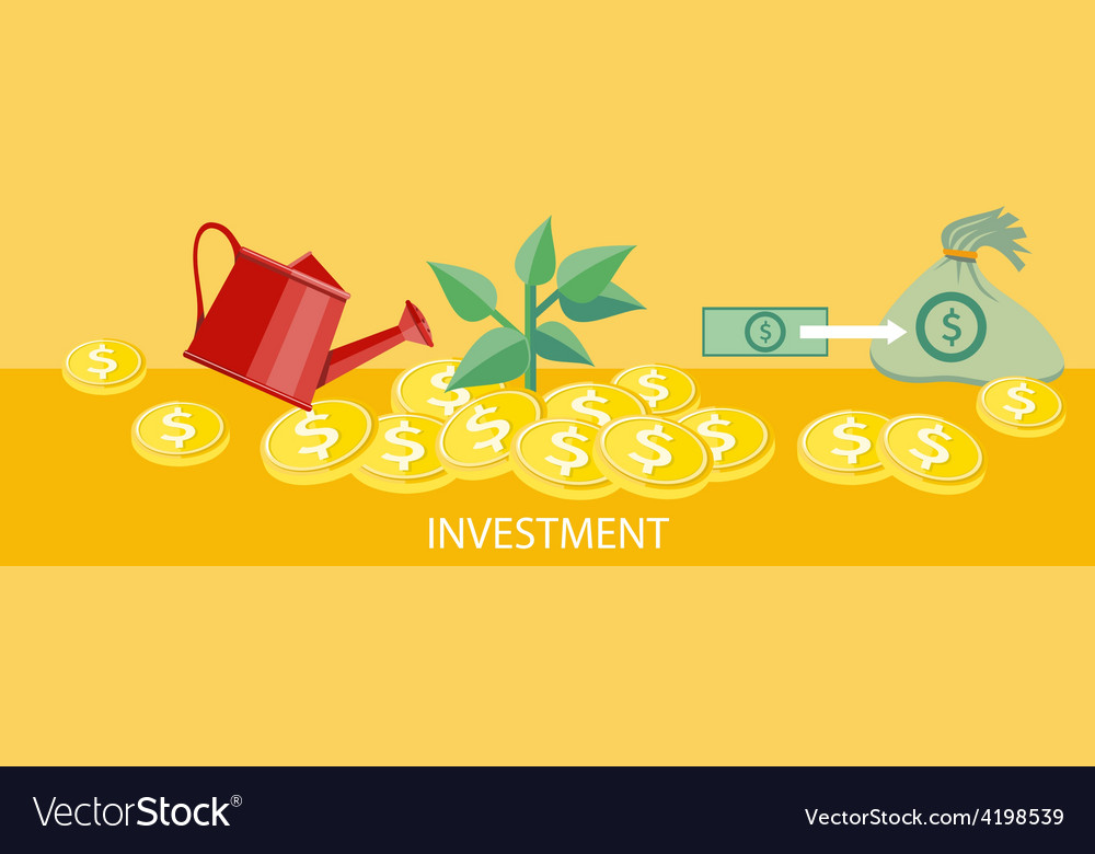 Investment concept vector | Price: 1 Credit (USD $1)