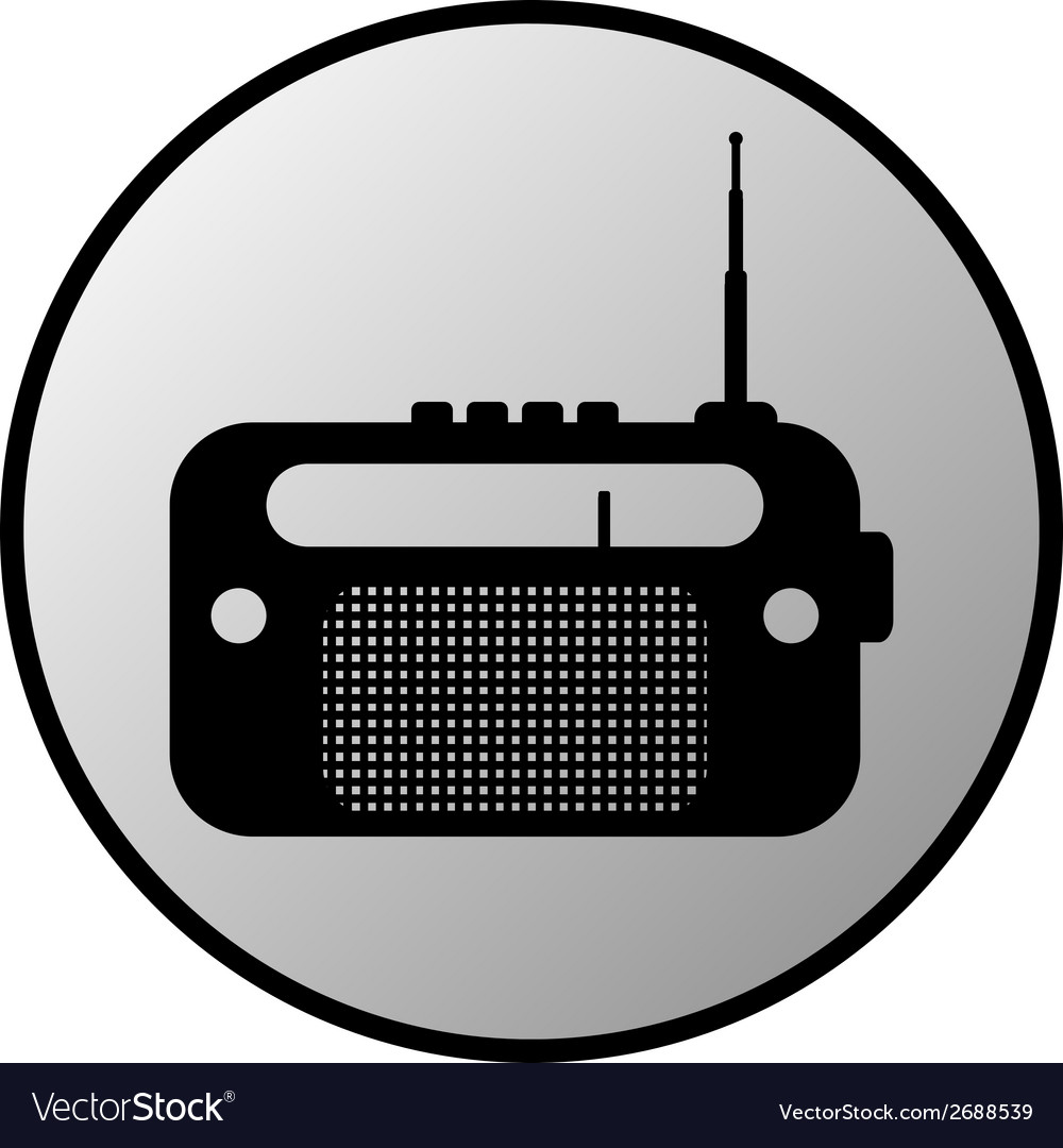 Radio button vector | Price: 1 Credit (USD $1)
