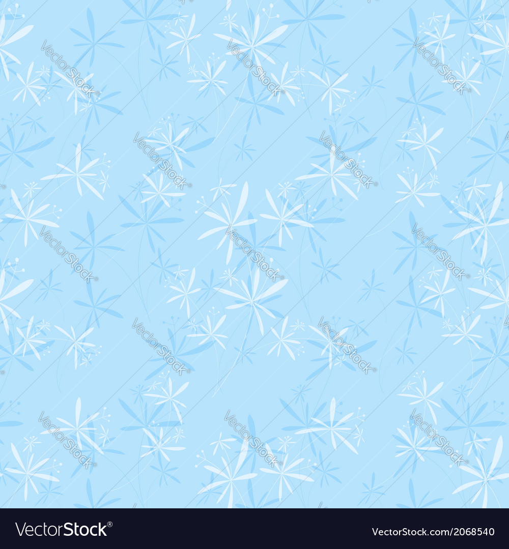 Springtime flower seamless pattern vector | Price: 1 Credit (USD $1)