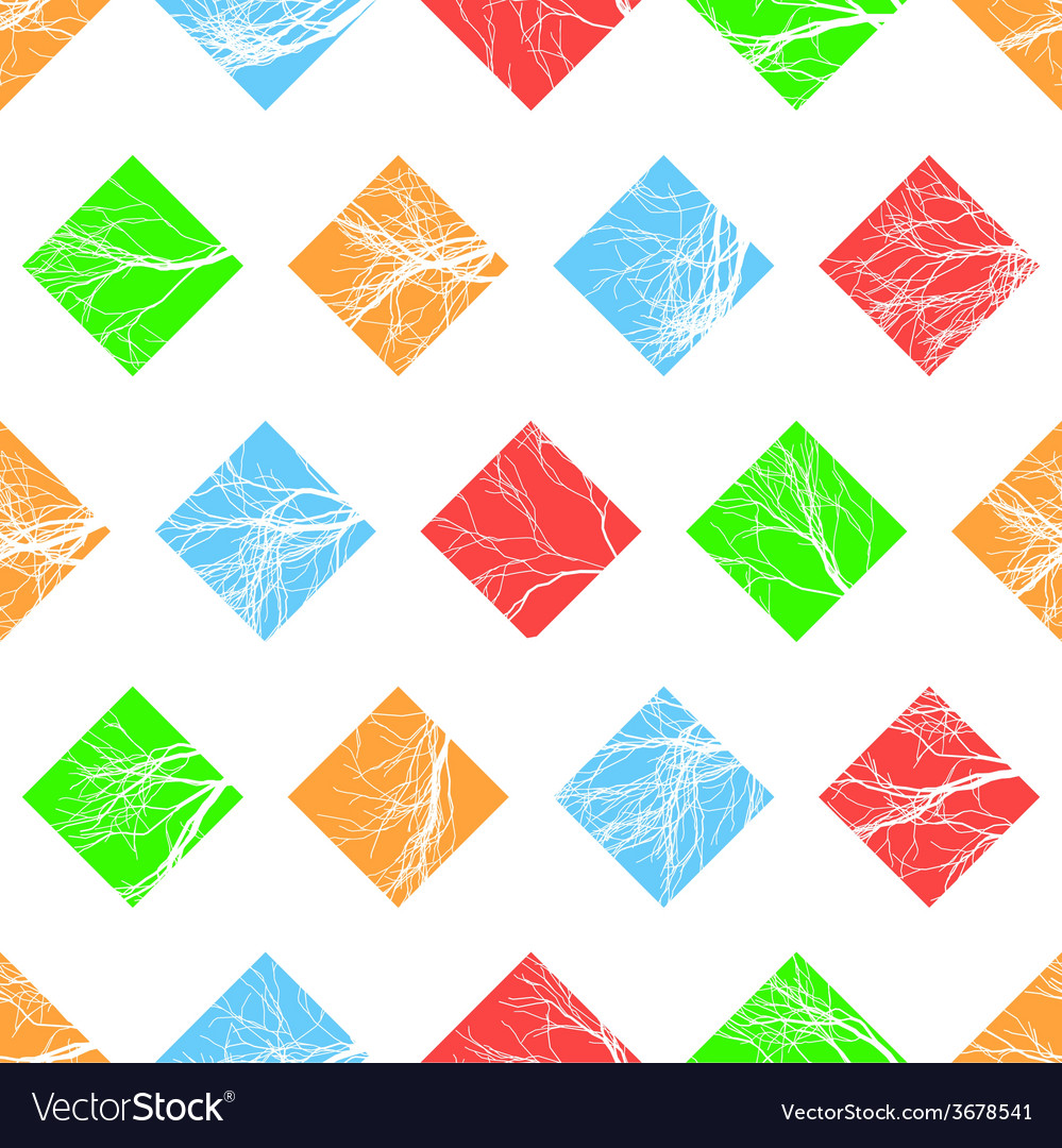 Abstract colorful squares seamless pattern vector | Price: 1 Credit (USD $1)