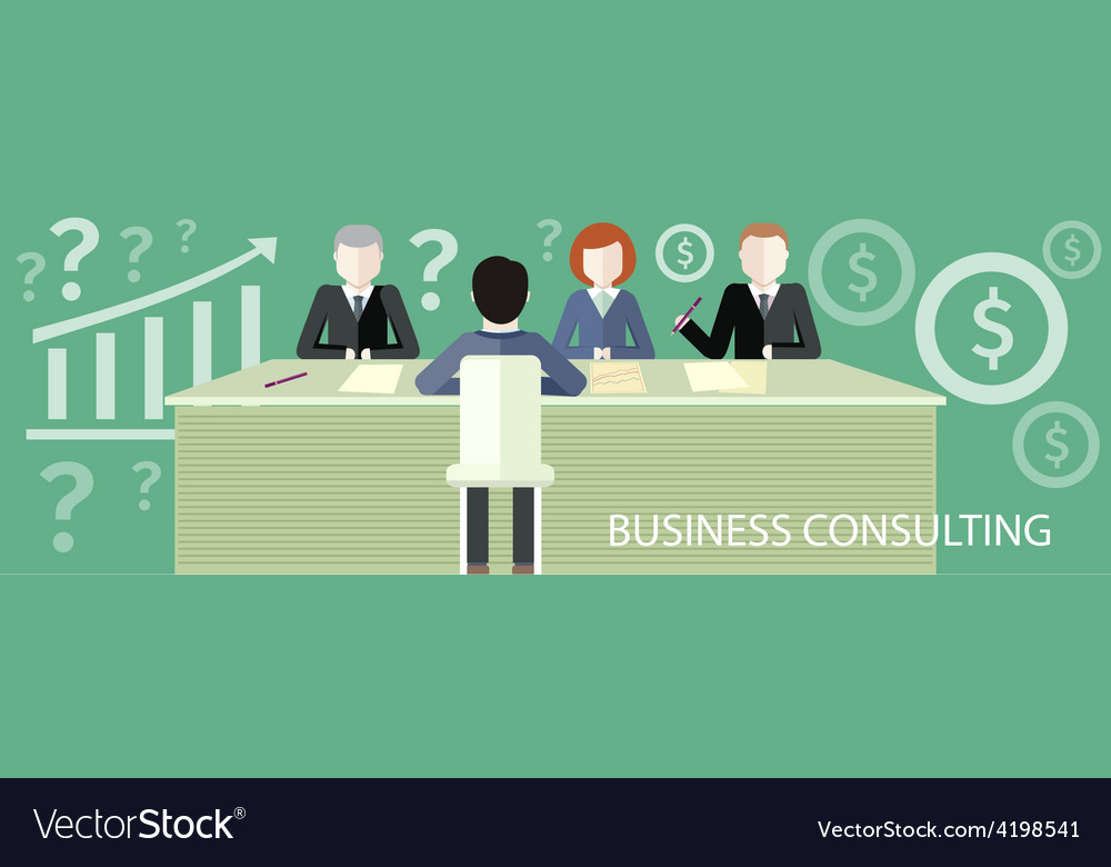 Business consulting concept vector | Price: 1 Credit (USD $1)