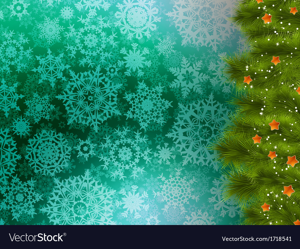 Christmas background with tree eps 10 vector   Price: 1 Credit (USD $1)