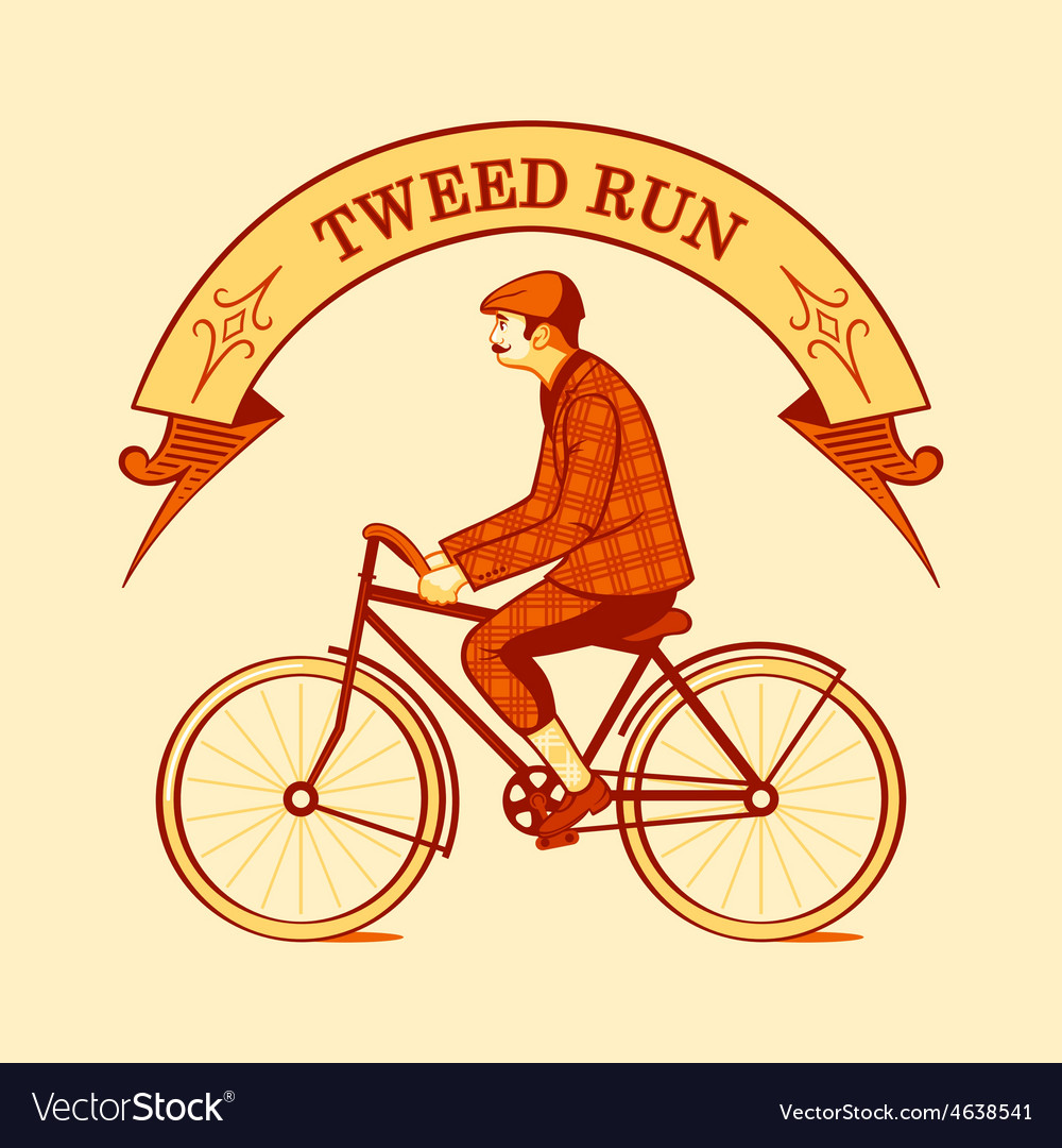Tweed run symbol vector | Price: 1 Credit (USD $1)