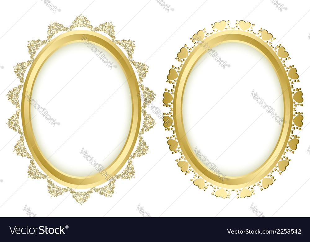 Beautiful decorative frames vector | Price: 1 Credit (USD $1)