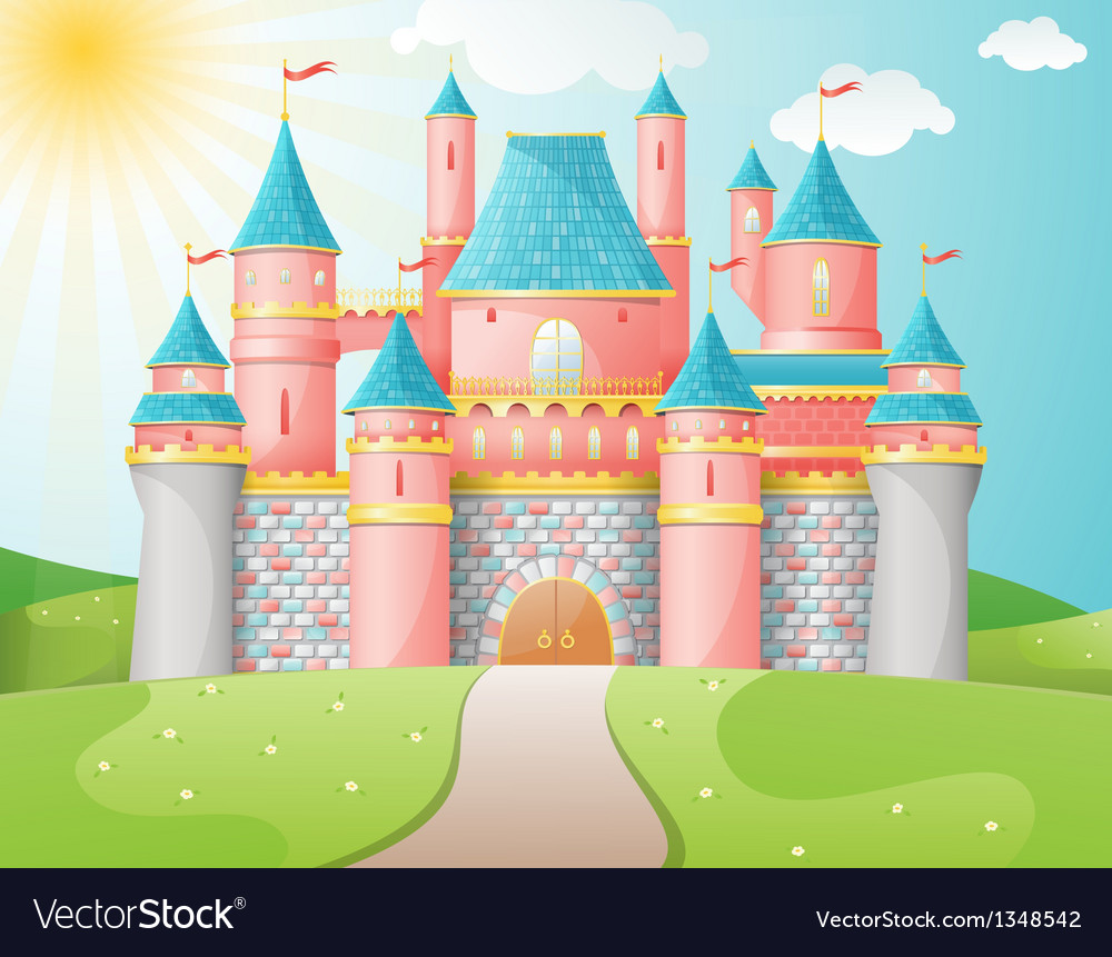 Fairytale castle vector | Price: 3 Credit (USD $3)