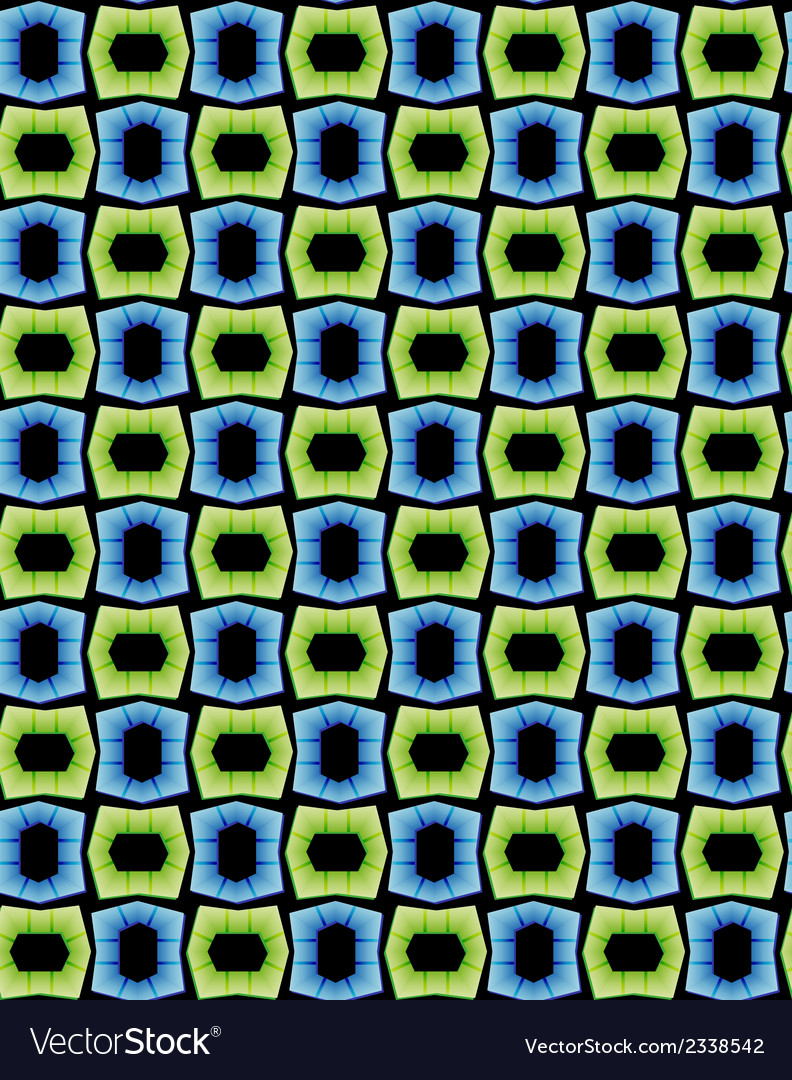 Seamless pattern - color objects vector | Price: 1 Credit (USD $1)