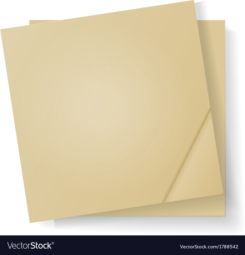 Sheets of paper for notes vector | Price: 1 Credit (USD $1)