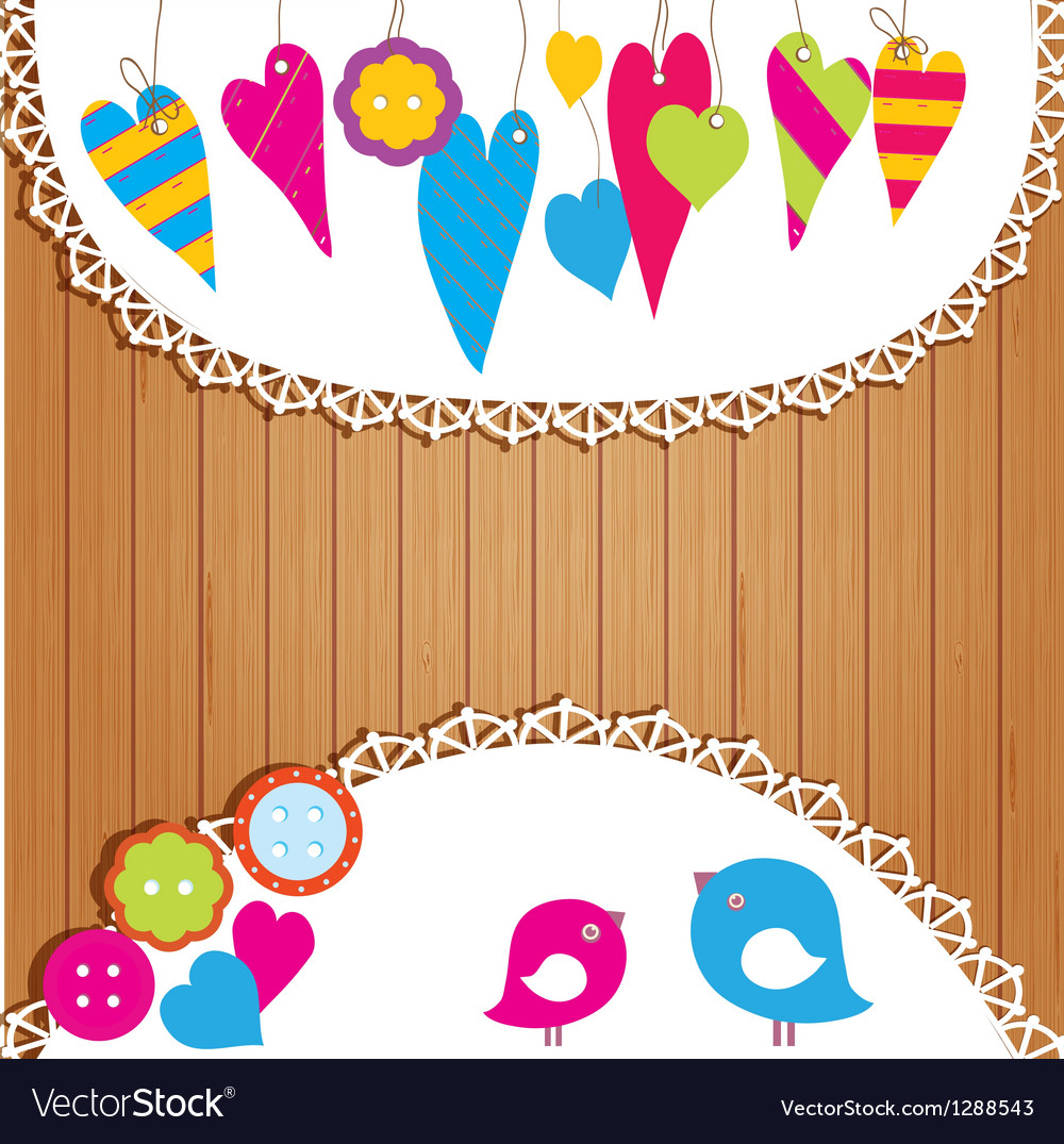 Colorful buntings garlands and paper vector | Price: 1 Credit (USD $1)