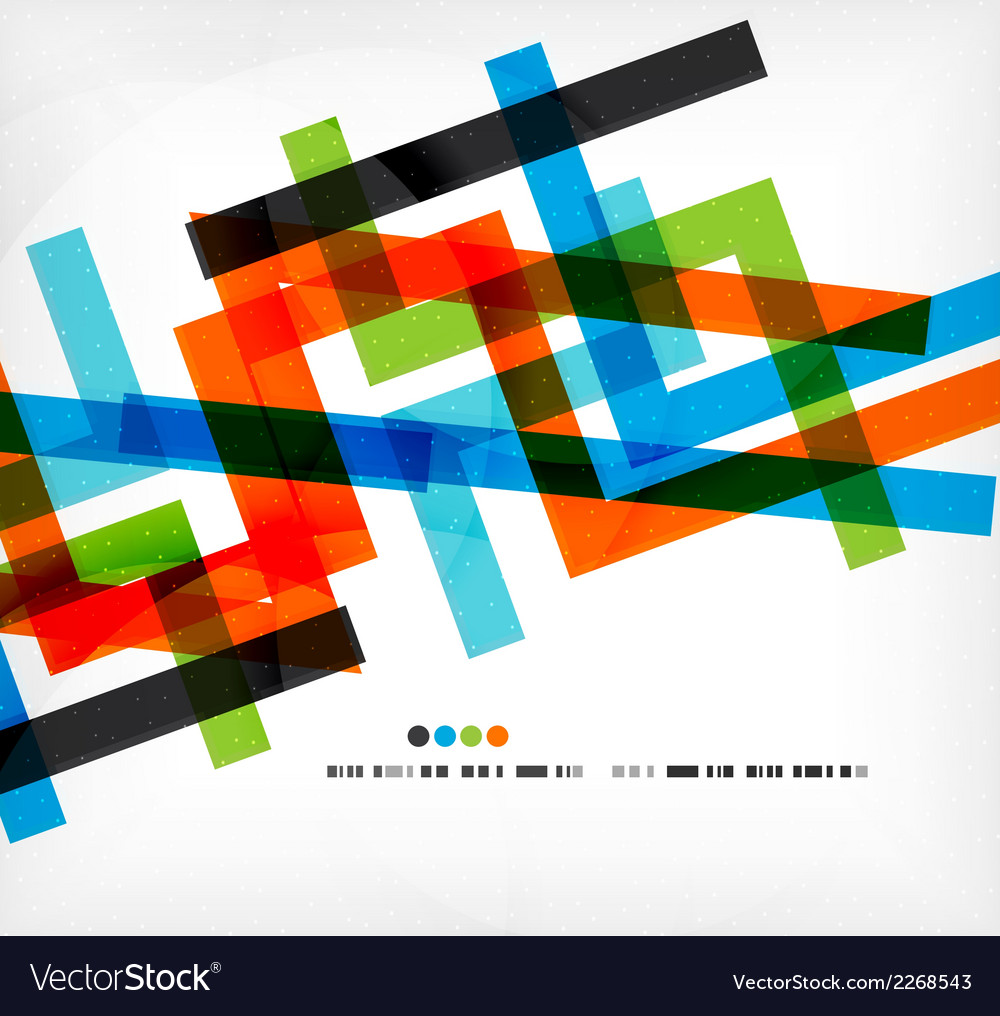 Straight lines business colorful template vector | Price: 1 Credit (USD $1)