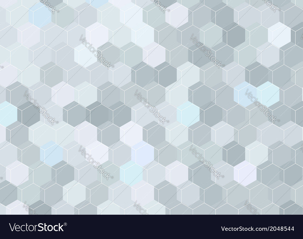 Geometrical hexagon structure background template vector | Price: 1 Credit (USD $1)