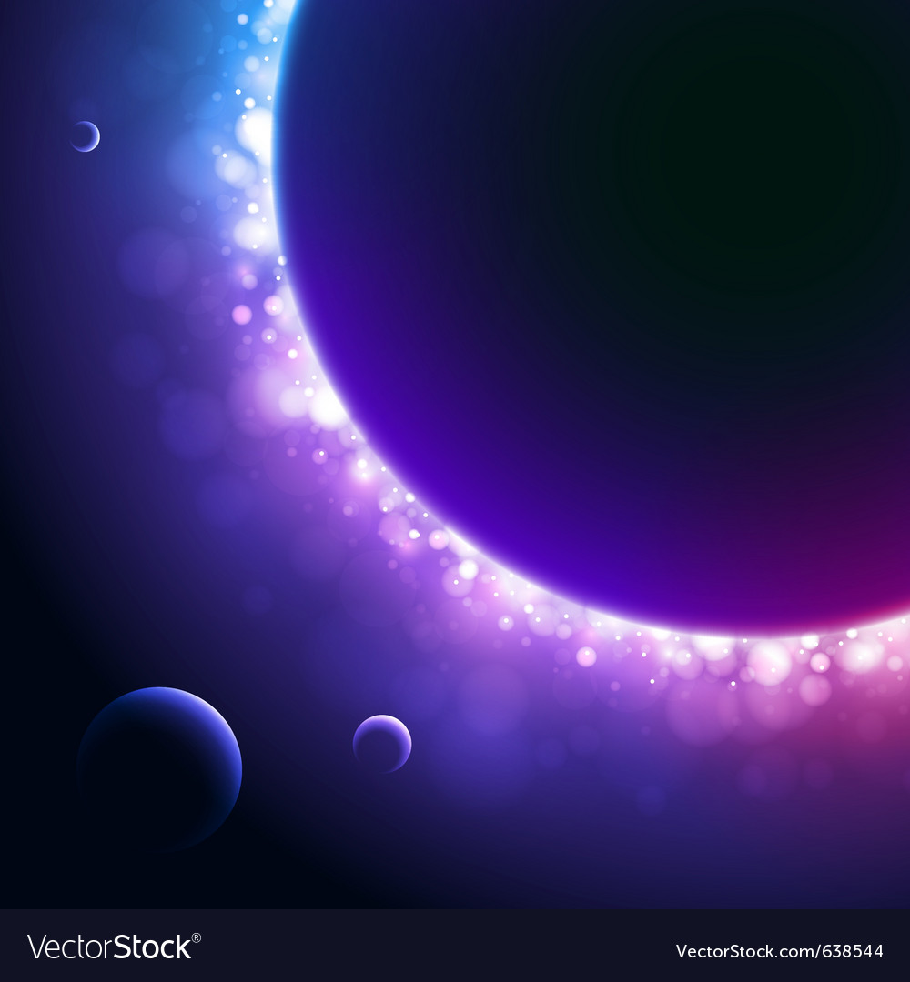 Space background vector | Price: 3 Credit (USD $3)