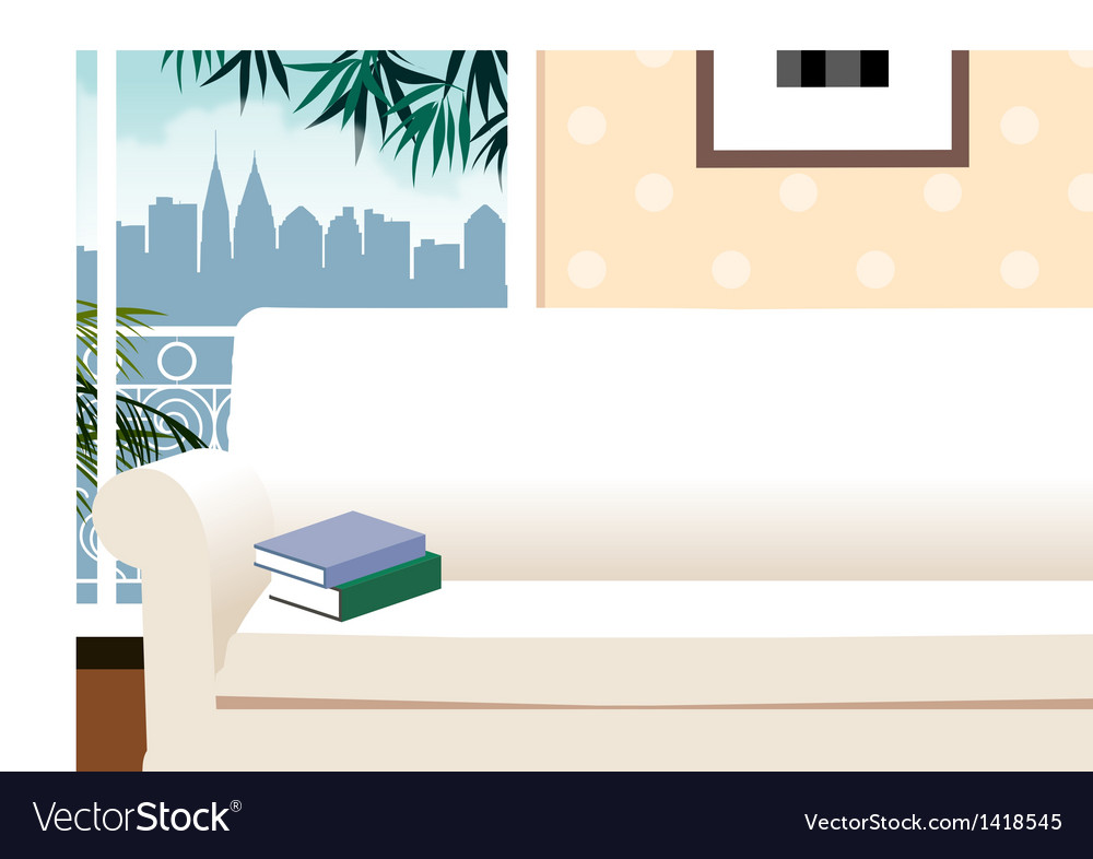 Apartment cityscape view vector | Price: 1 Credit (USD $1)