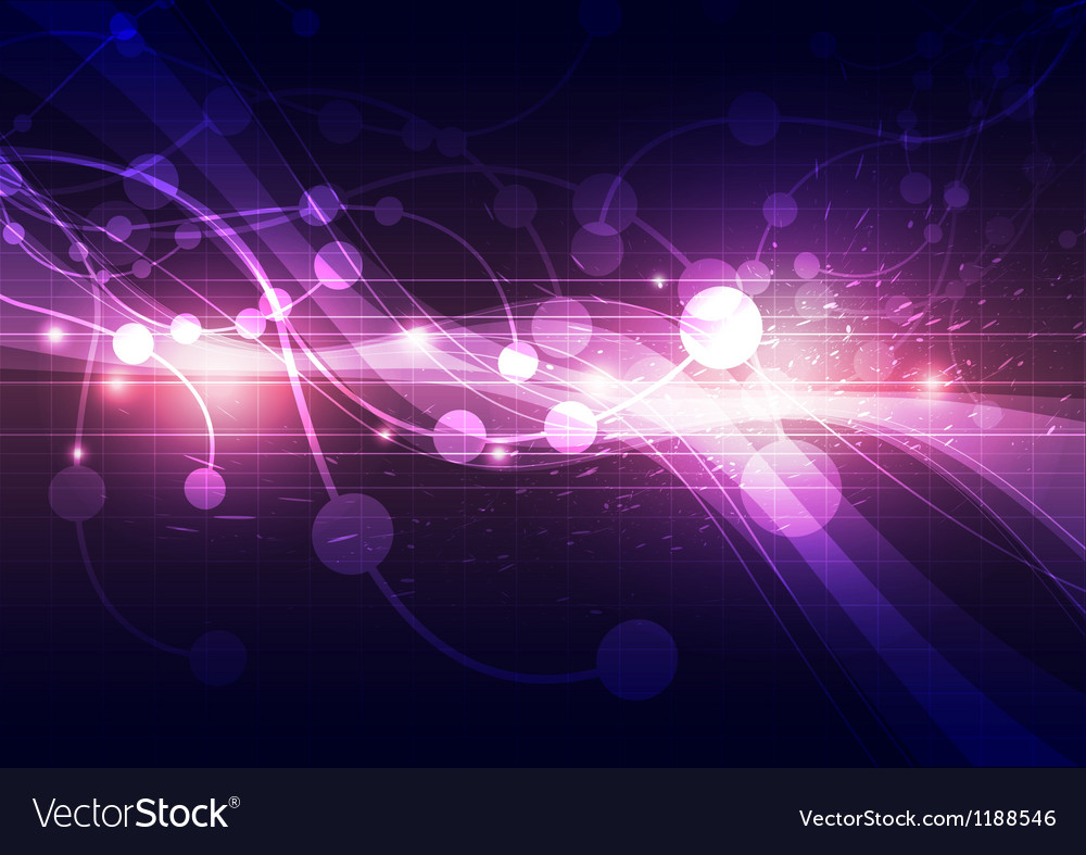 Abstract particle background vector | Price: 1 Credit (USD $1)