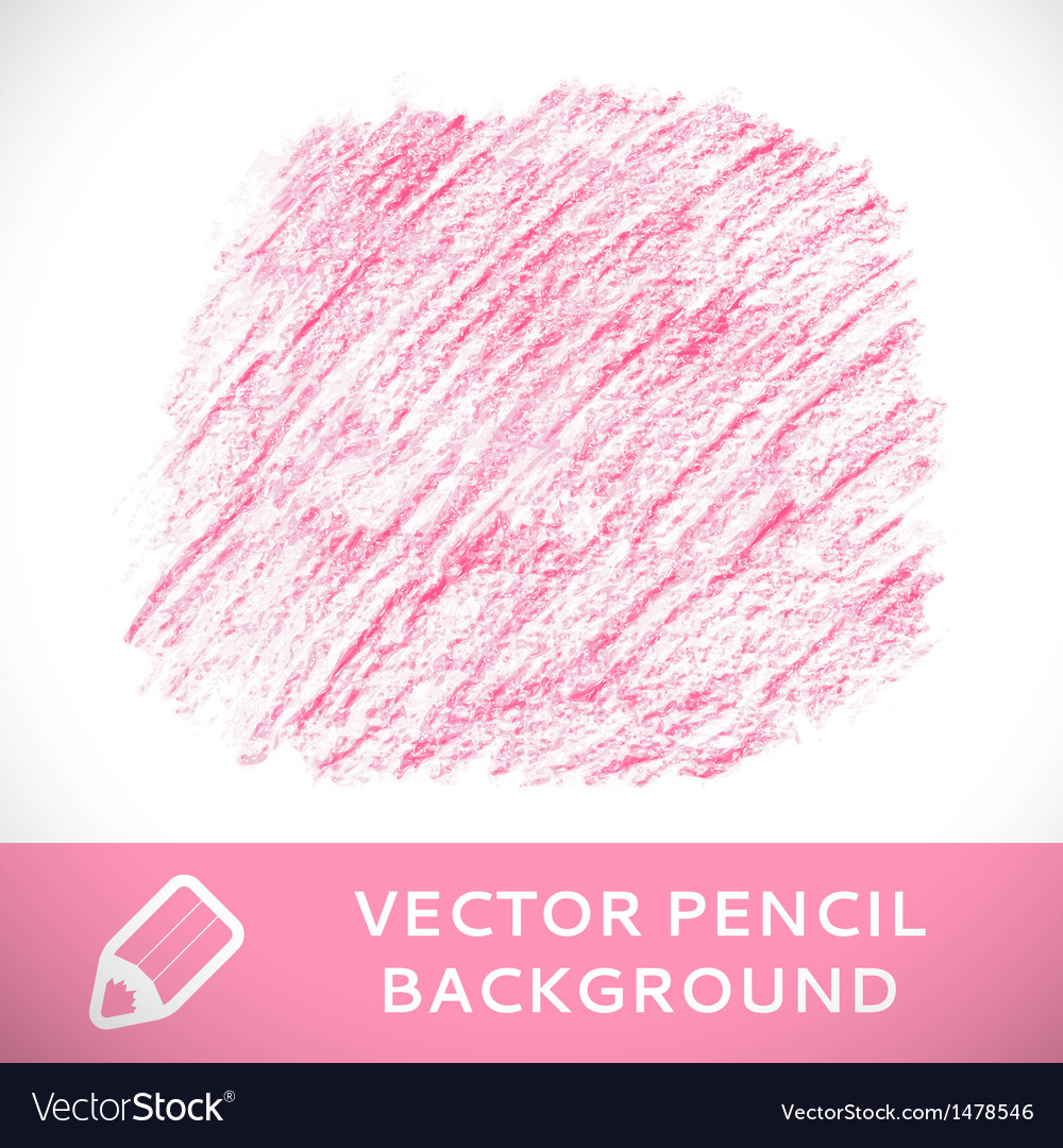 Pink pencil sketch background pattern vector | Price: 1 Credit (USD $1)
