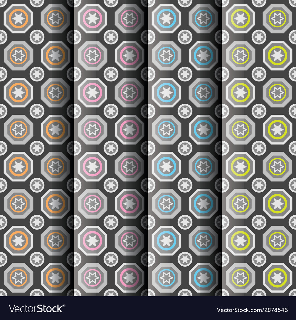 Seamless patterns collection vector   Price: 1 Credit (USD $1)