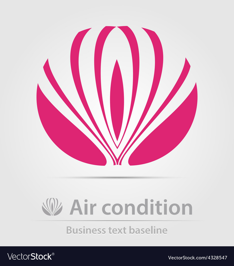 Air condition business icon vector | Price: 1 Credit (USD $1)