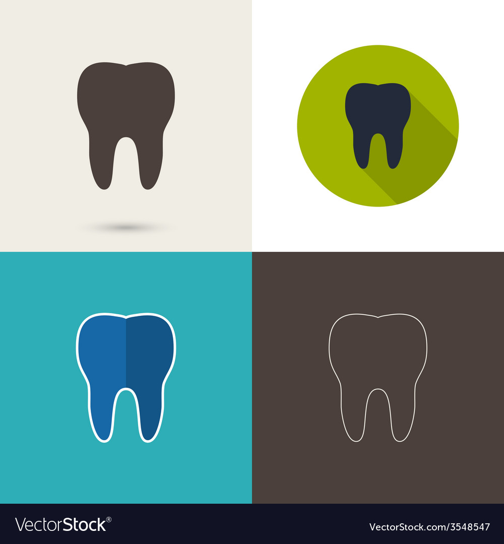 Human tooth vector | Price: 1 Credit (USD $1)