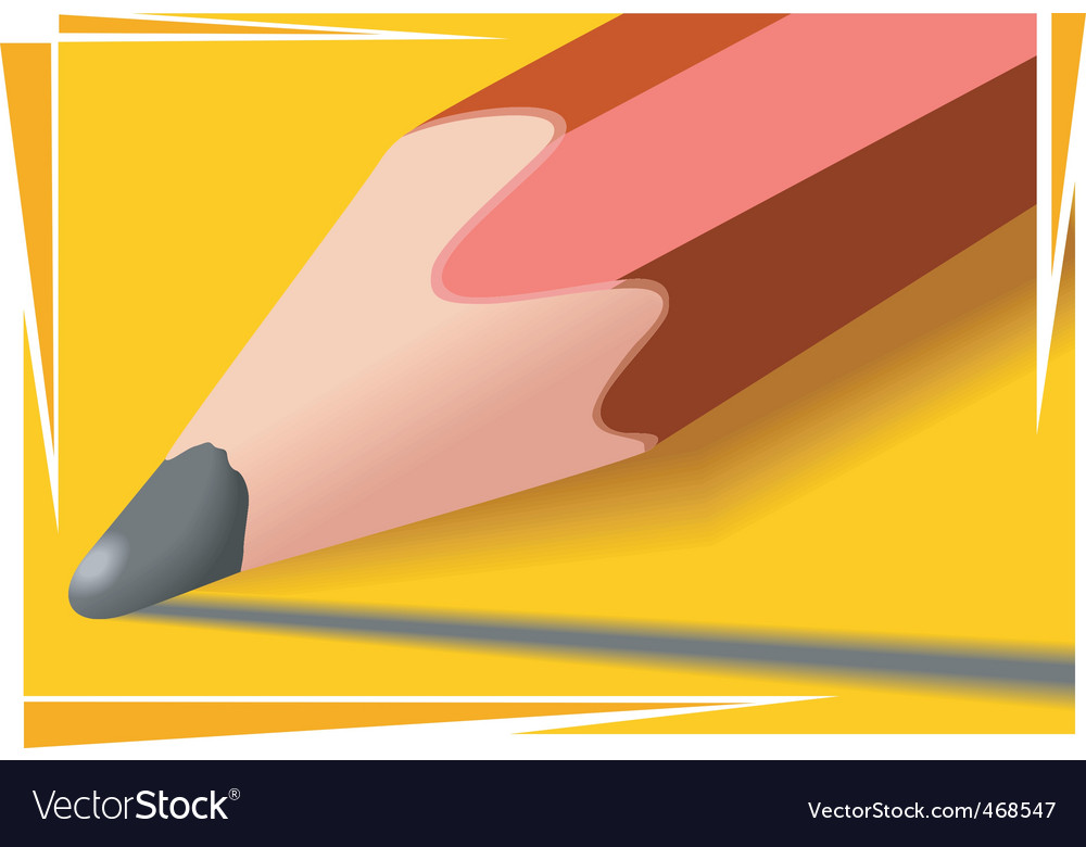 Pencil vector | Price: 1 Credit (USD $1)