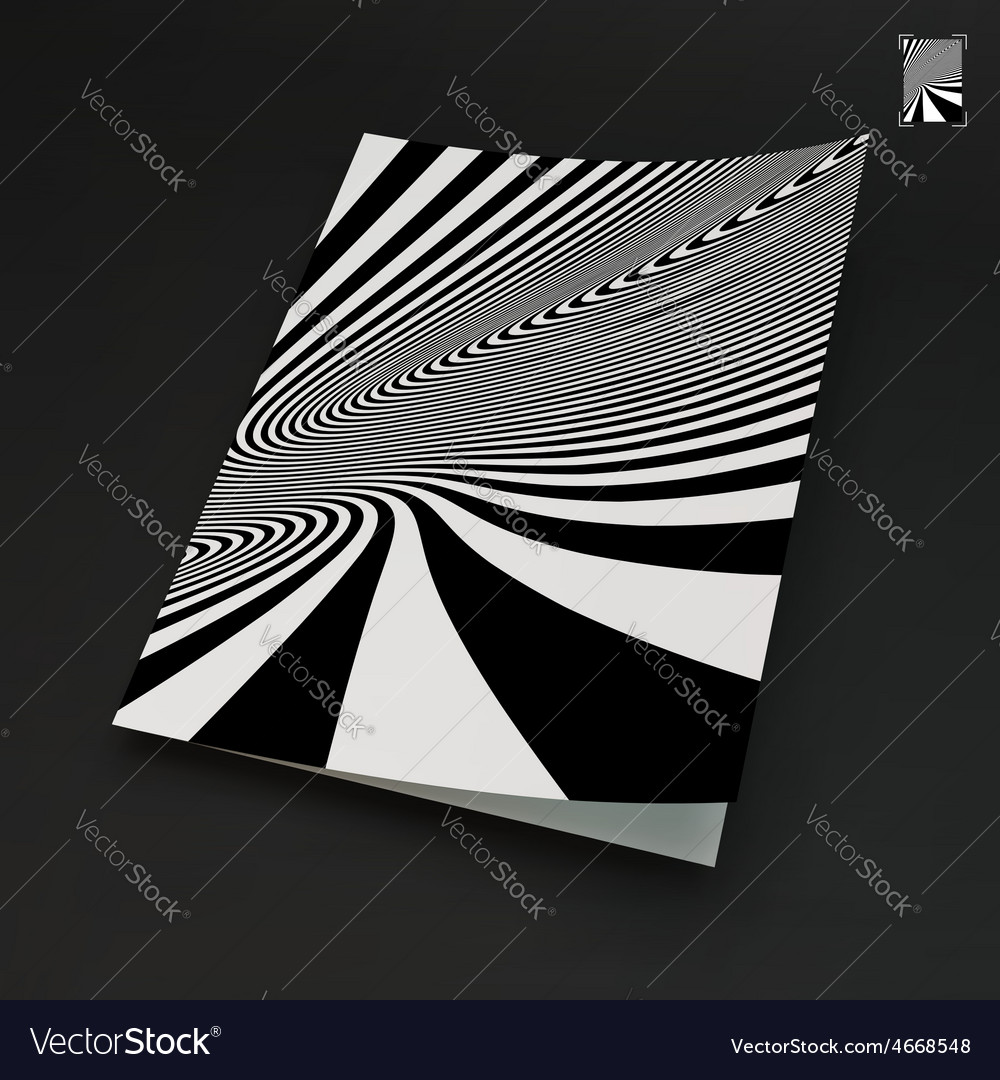 A4 business blank black and white abstract vector   Price: 1 Credit (USD $1)