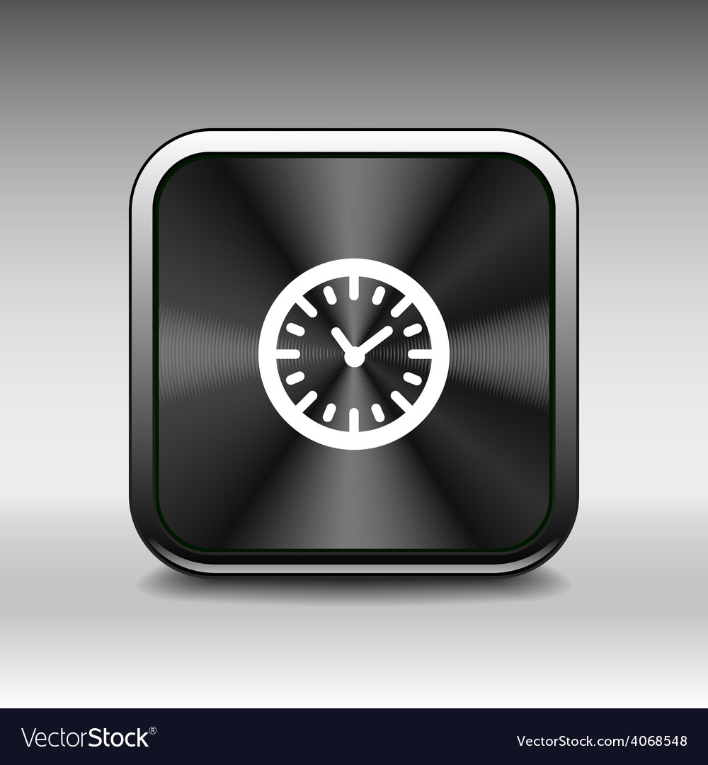 Clock icon time timer watch graphic vector | Price: 1 Credit (USD $1)