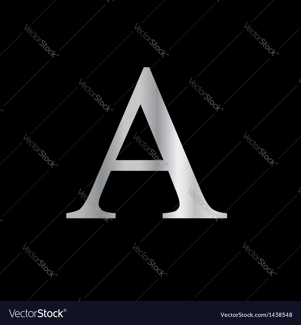 Greek letter- alpha vector | Price: 1 Credit (USD $1)