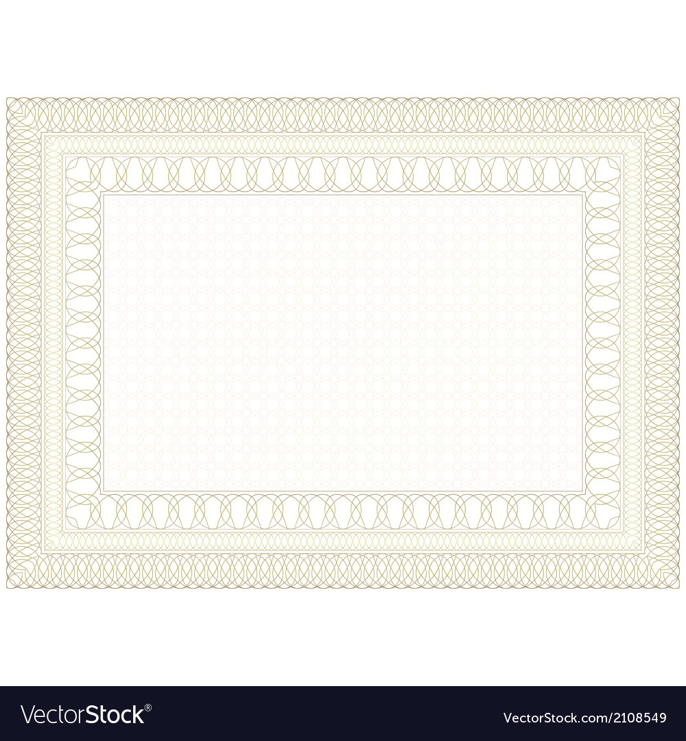 Decorative form of the document vector | Price: 1 Credit (USD $1)
