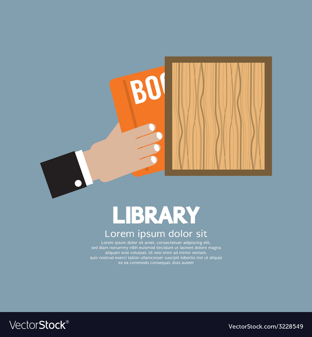 Hand draw a book from shelf vector | Price: 1 Credit (USD $1)