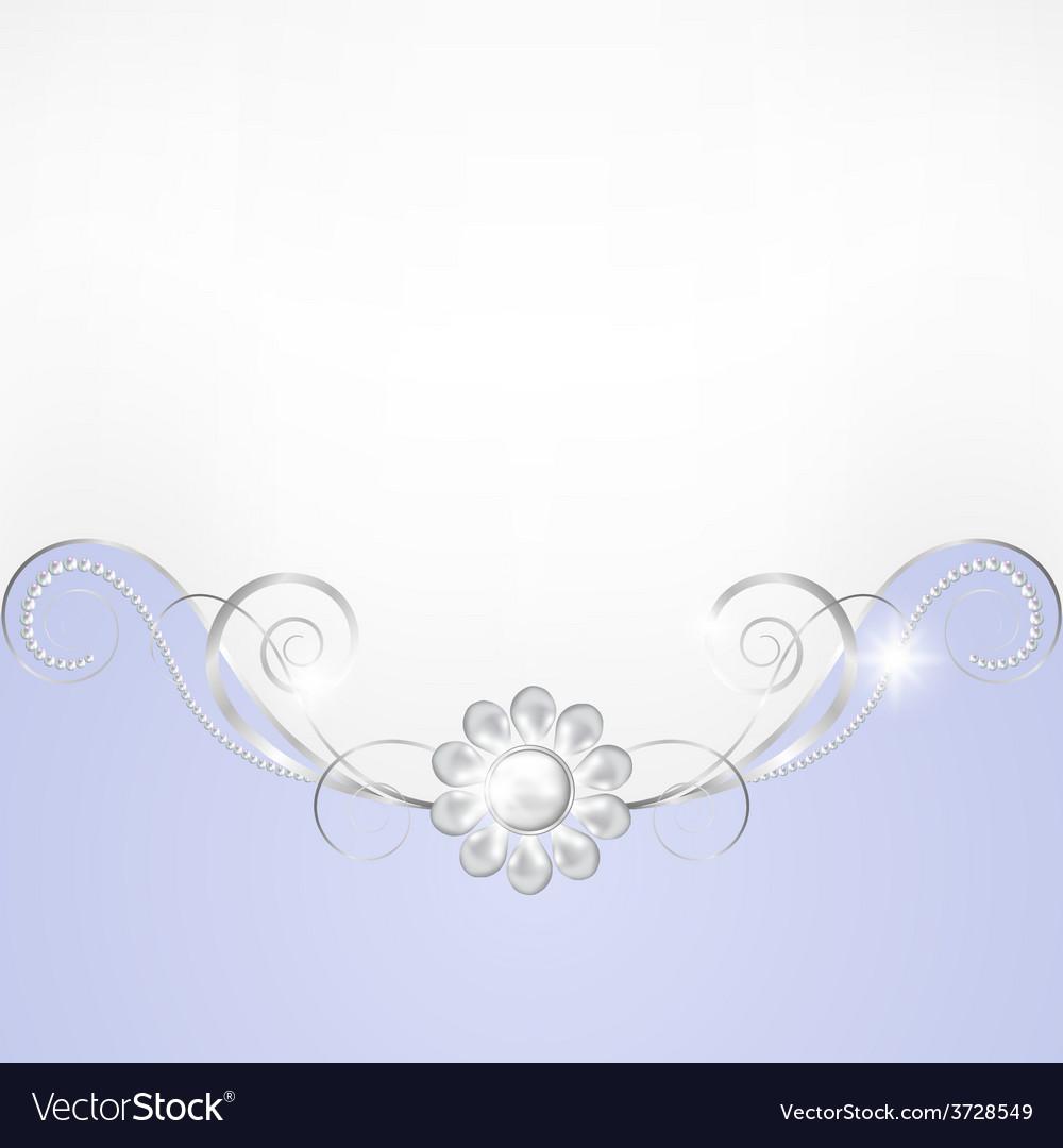 Jewelry border vector | Price: 1 Credit (USD $1)