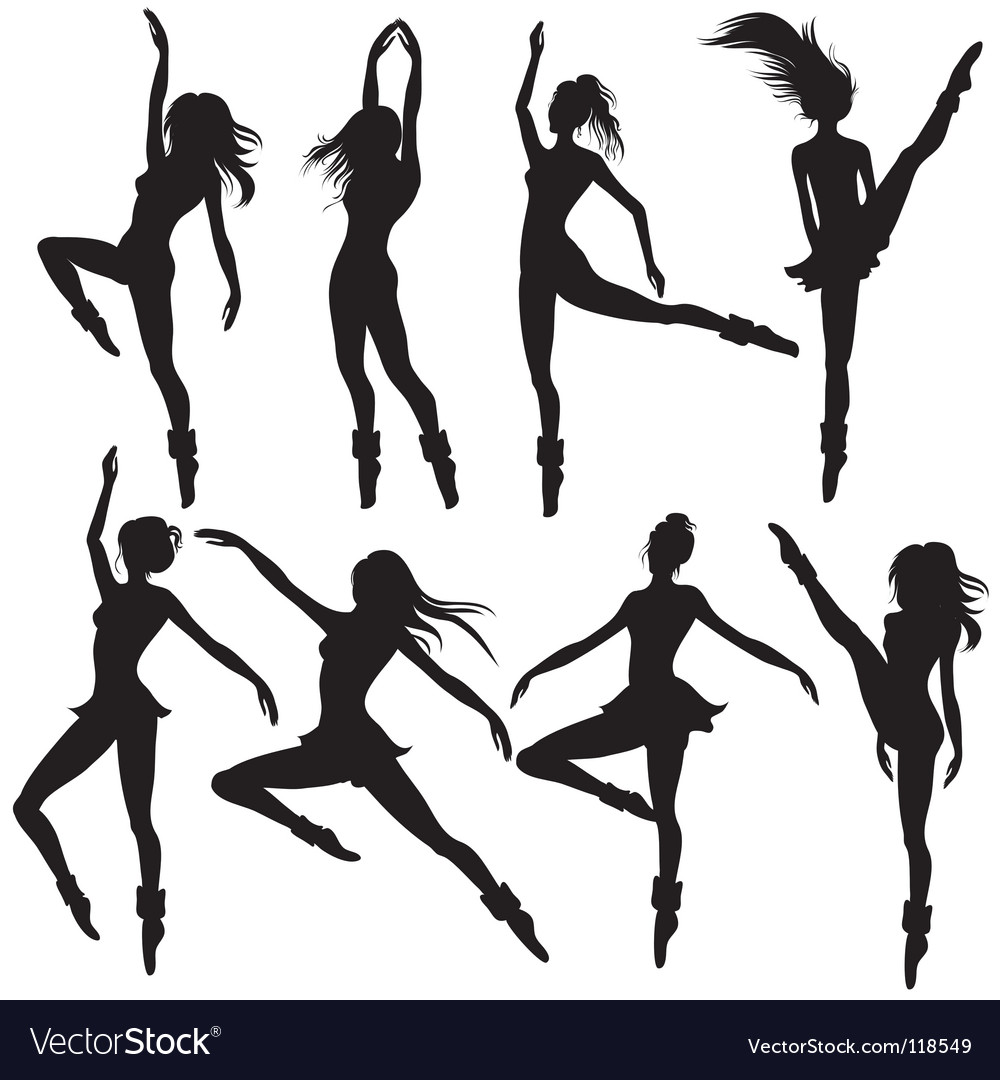 Modern ballet vector | Price: 1 Credit (USD $1)