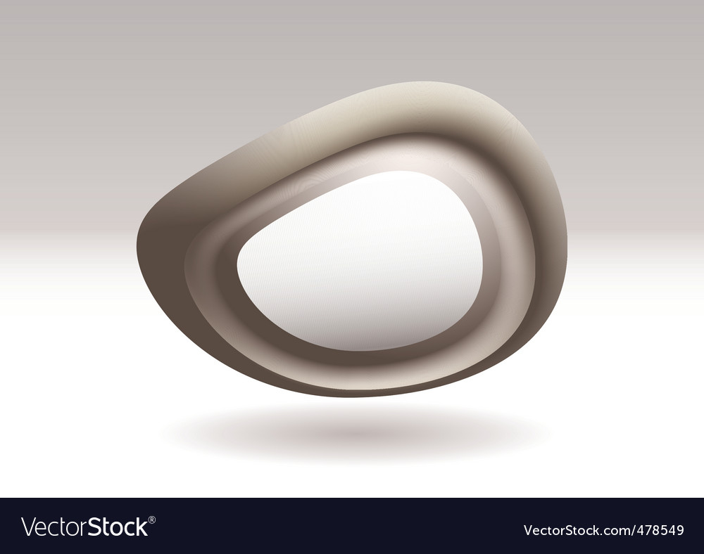 Virtual stone icon vector | Price: 1 Credit (USD $1)