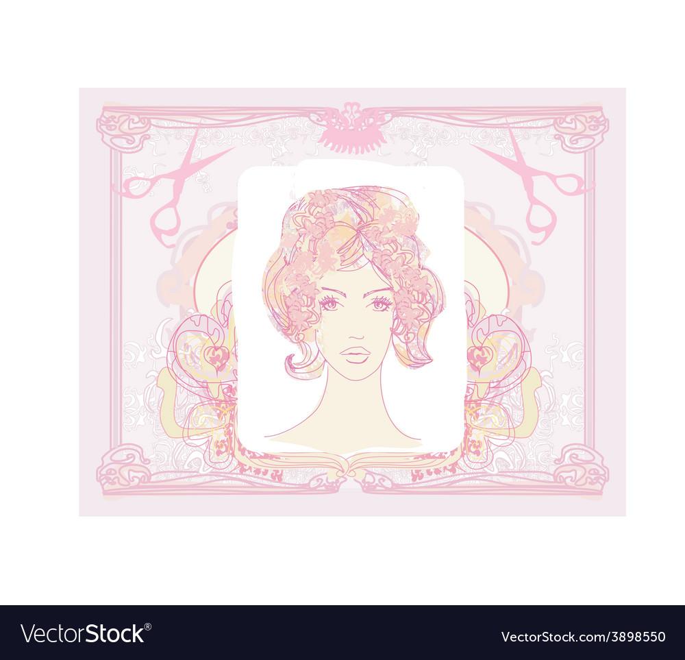 Cartoon female design vector   Price: 1 Credit (USD $1)