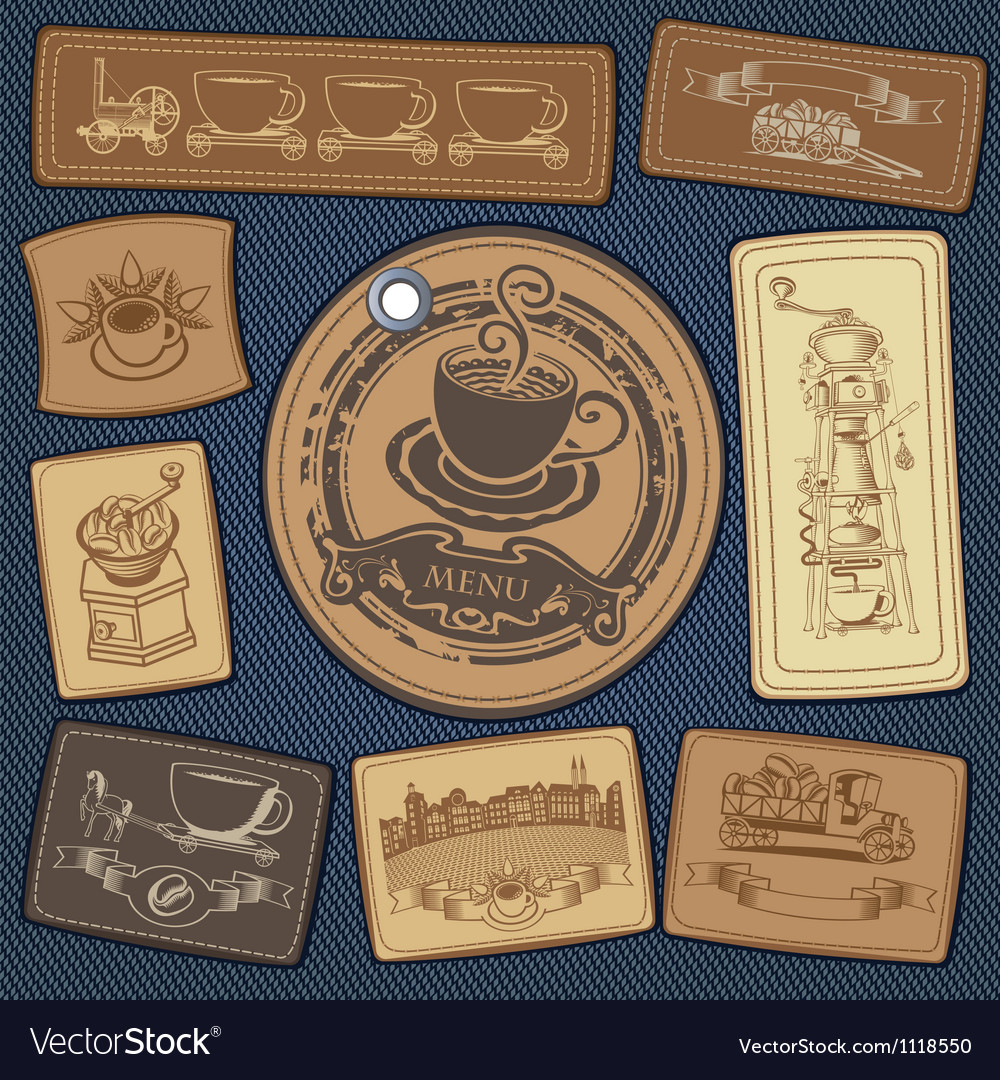 Coffee collection vector | Price: 1 Credit (USD $1)