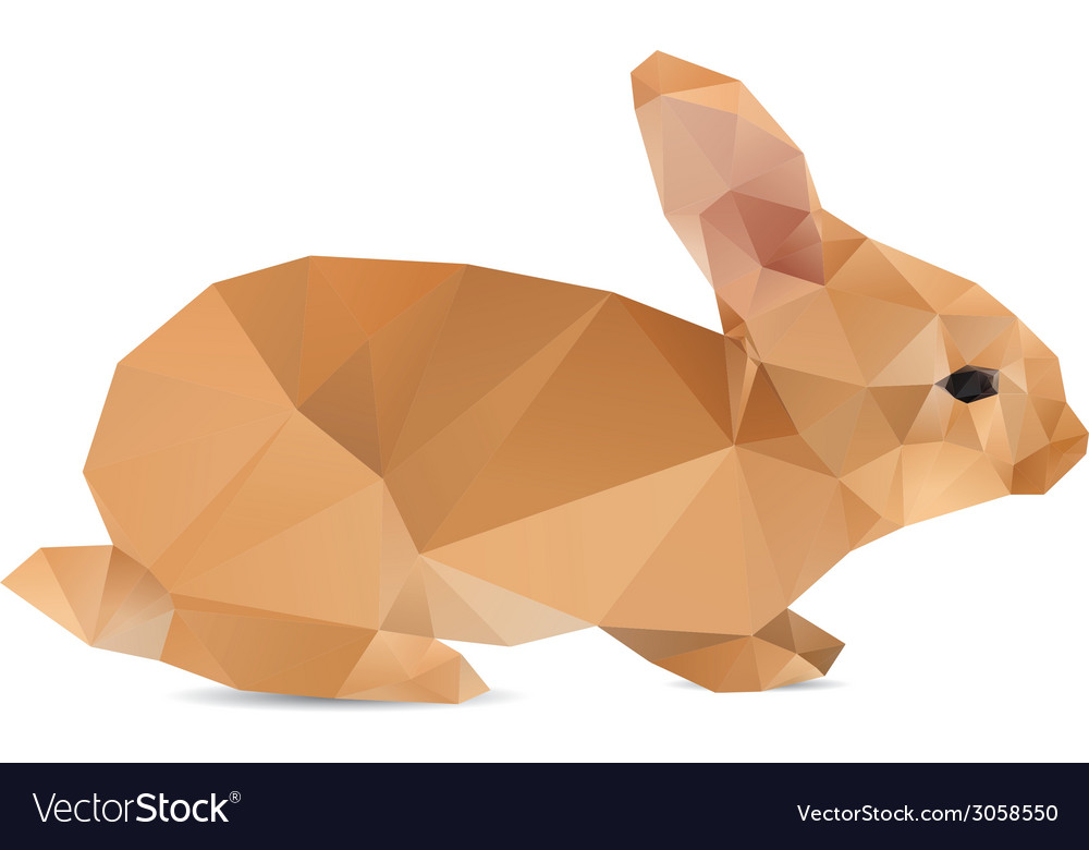 Rabbit abstract vector | Price: 1 Credit (USD $1)