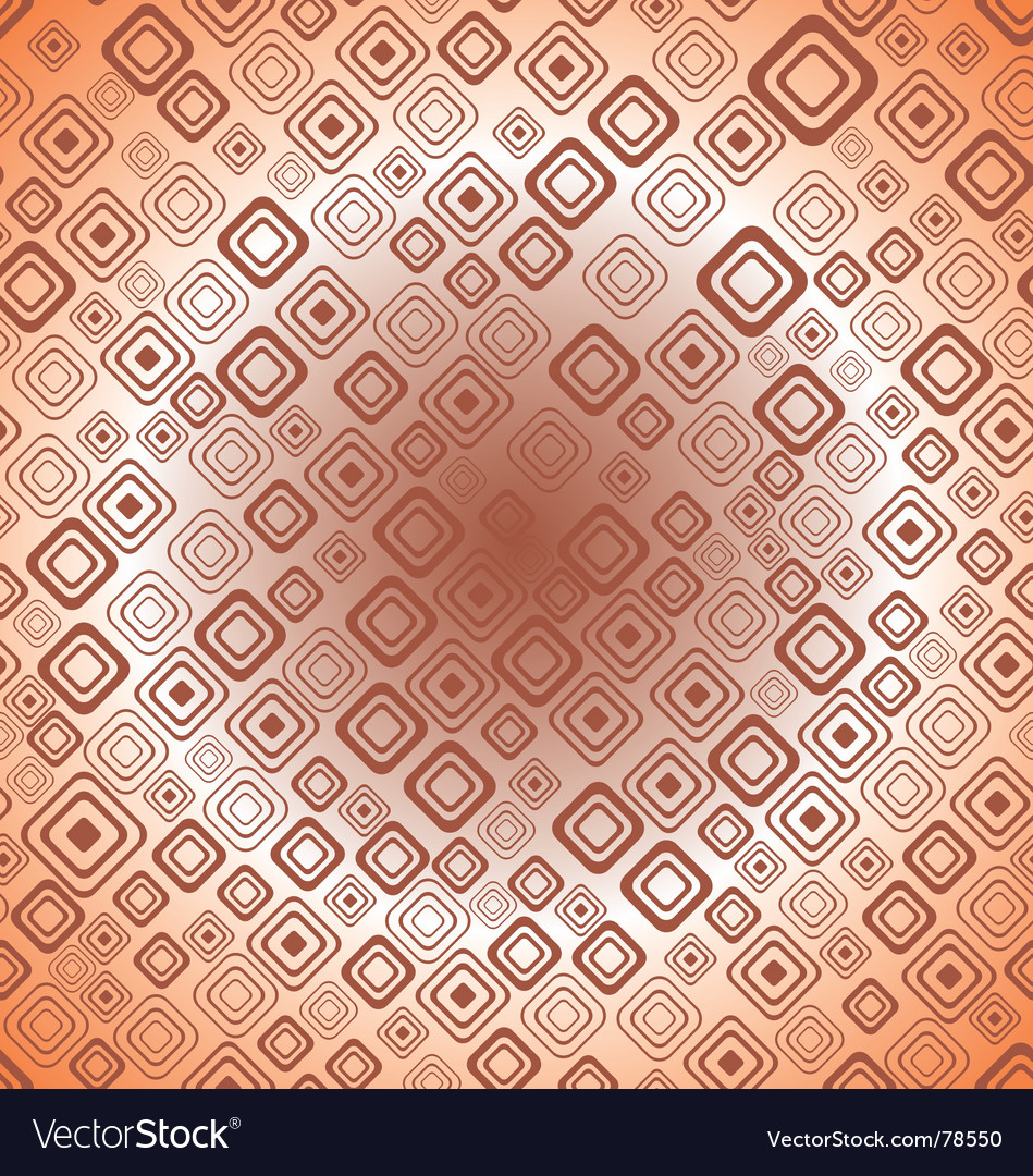 Seamless retro background from squares vector | Price: 1 Credit (USD $1)