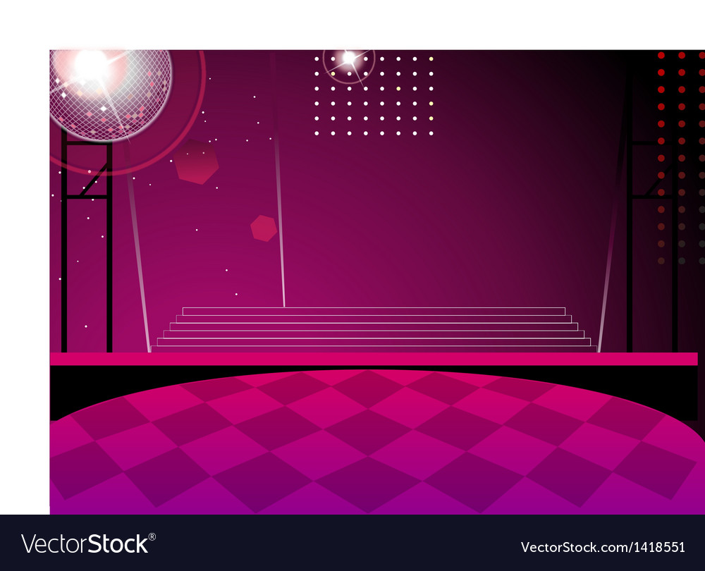 Club dance background vector | Price: 1 Credit (USD $1)