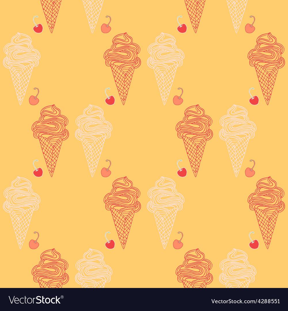 Icecream background vector | Price: 1 Credit (USD $1)