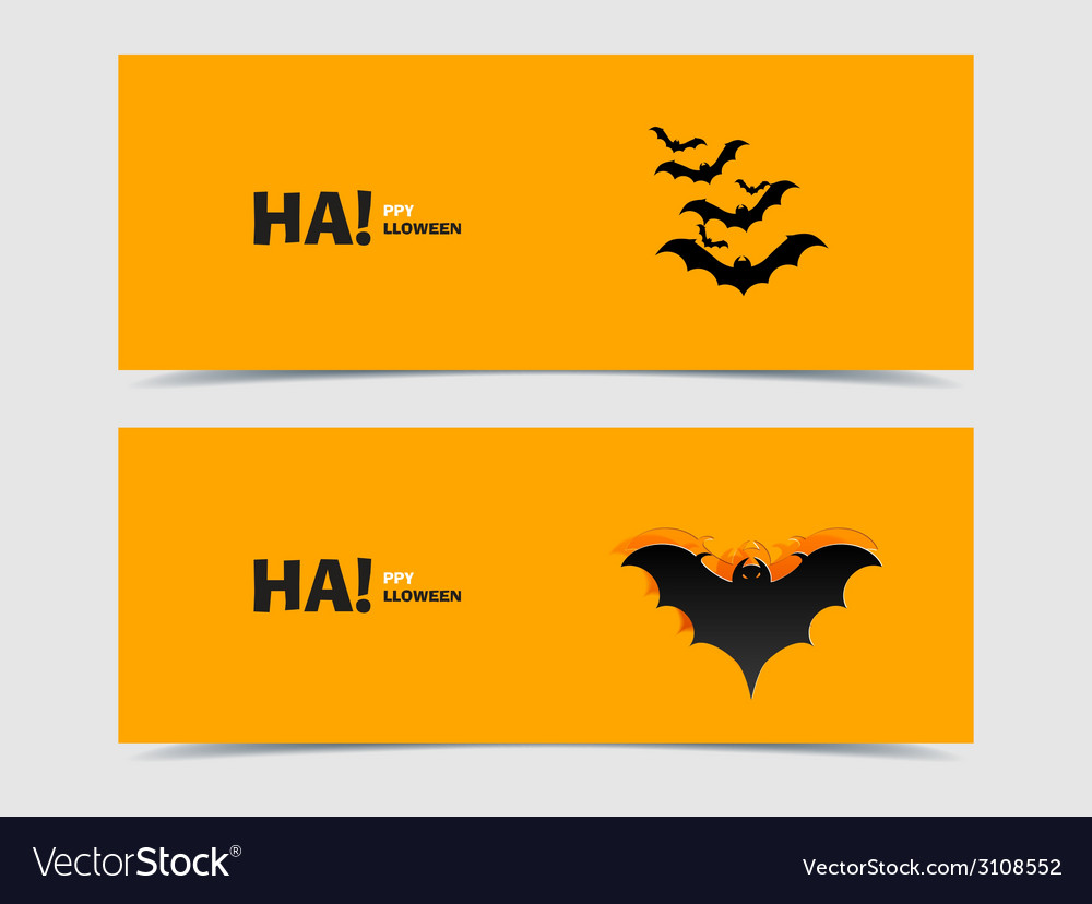 Black bats paper cut out from the background vector | Price: 1 Credit (USD $1)