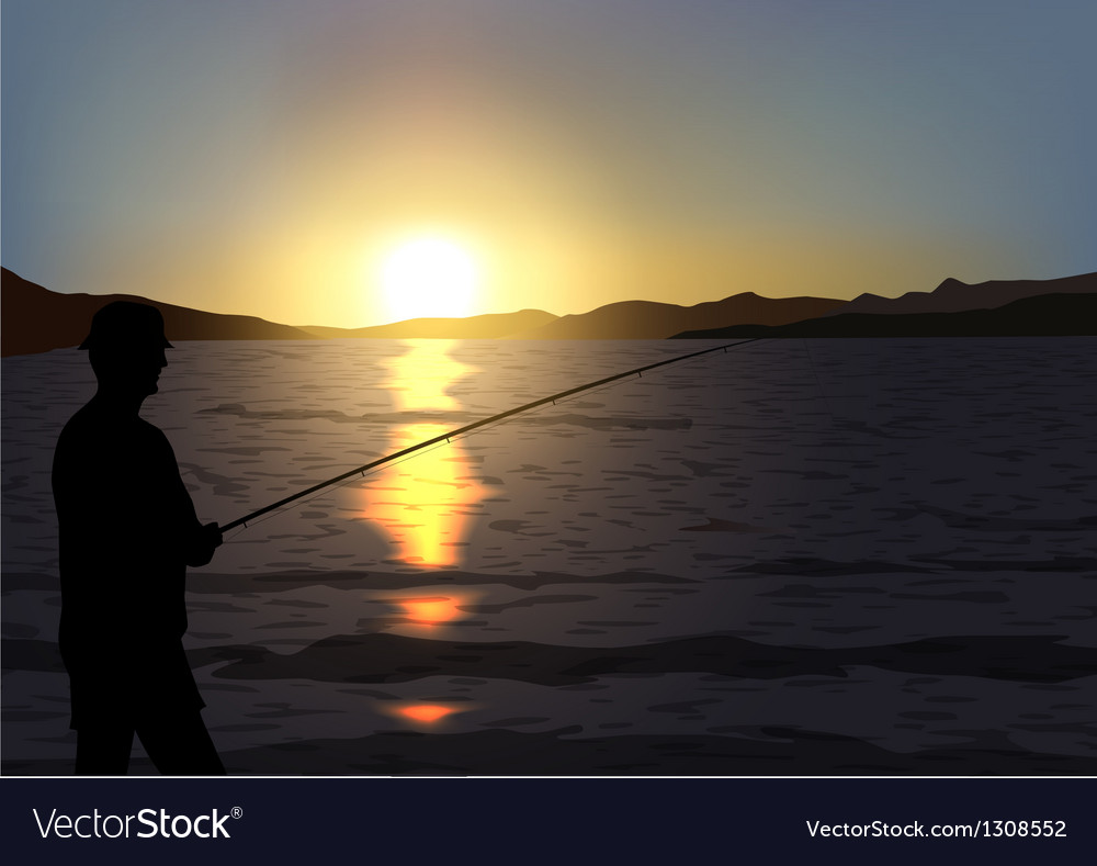 Fishing vector | Price: 3 Credit (USD $3)