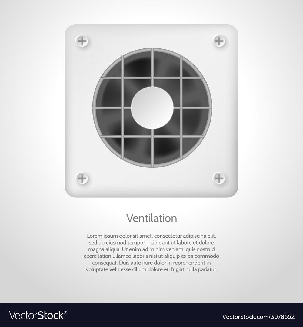 Gray ventilation vector | Price: 1 Credit (USD $1)