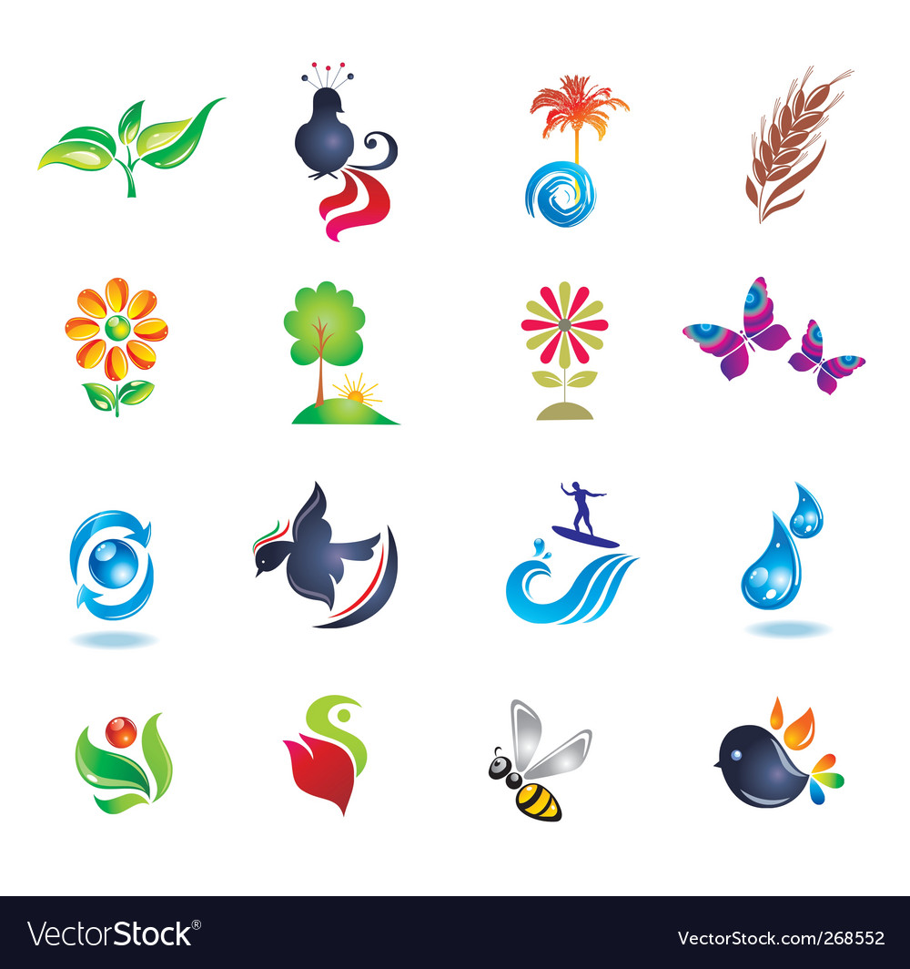 Set of design icons vector | Price: 1 Credit (USD $1)