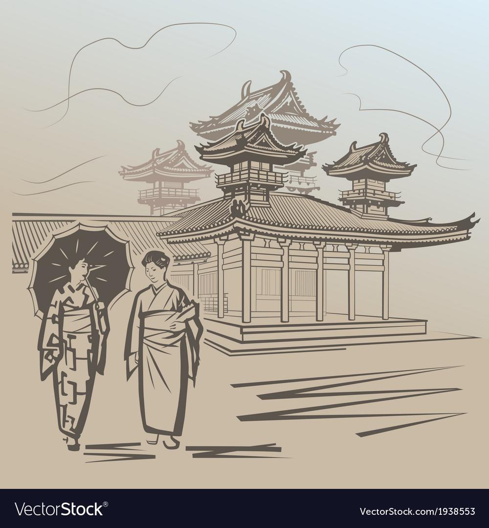 Kioto vector | Price: 1 Credit (USD $1)