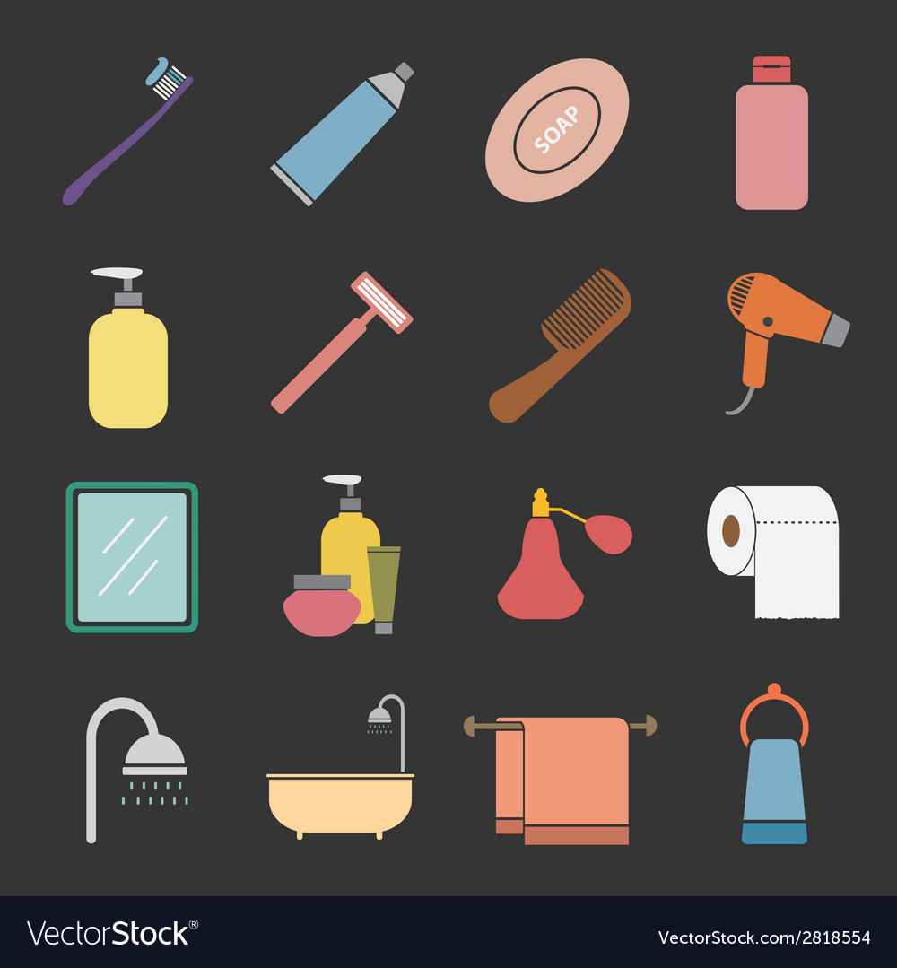 Bathroom icon vector | Price: 1 Credit (USD $1)