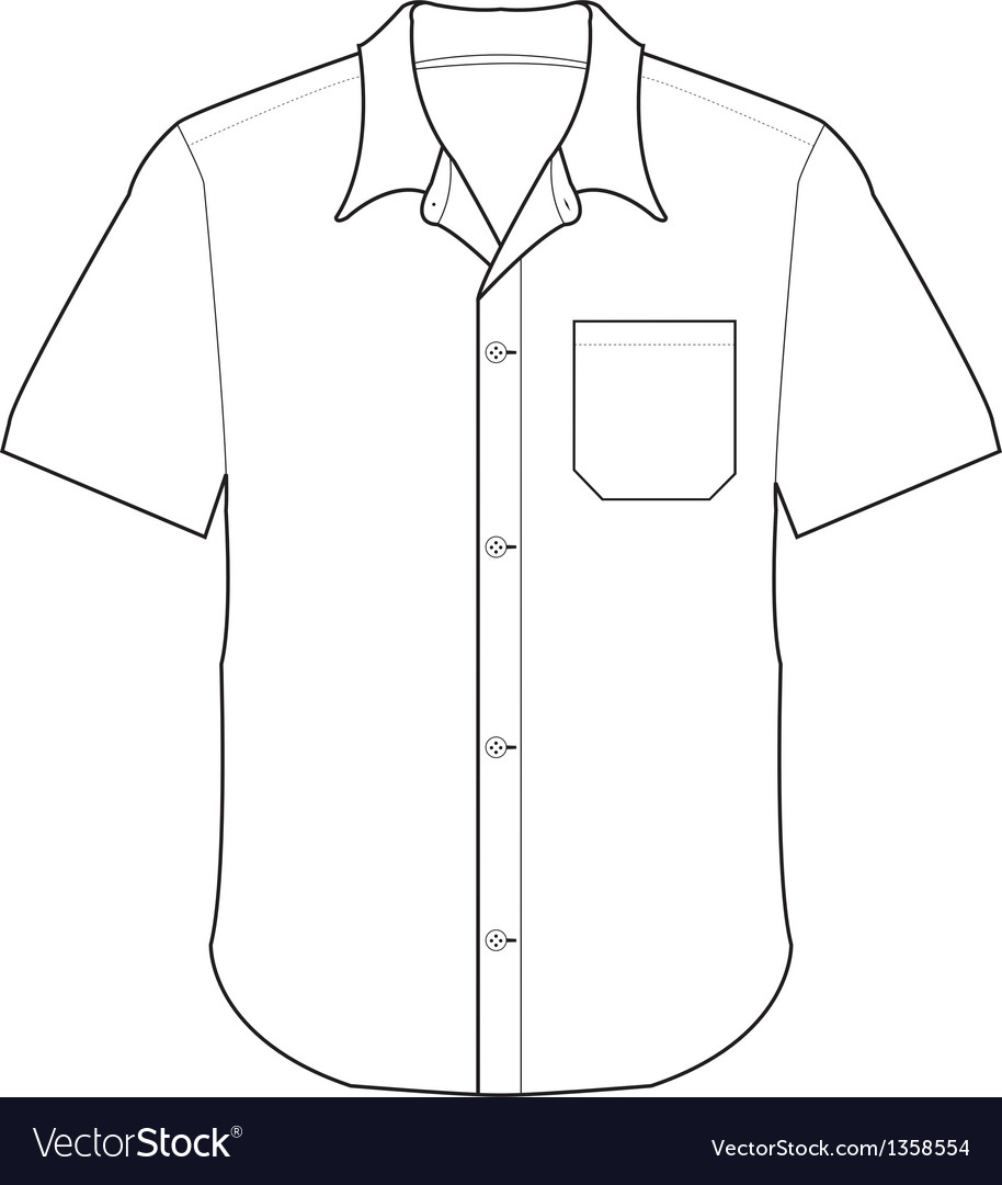 Front shirt vector | Price: 1 Credit (USD $1)