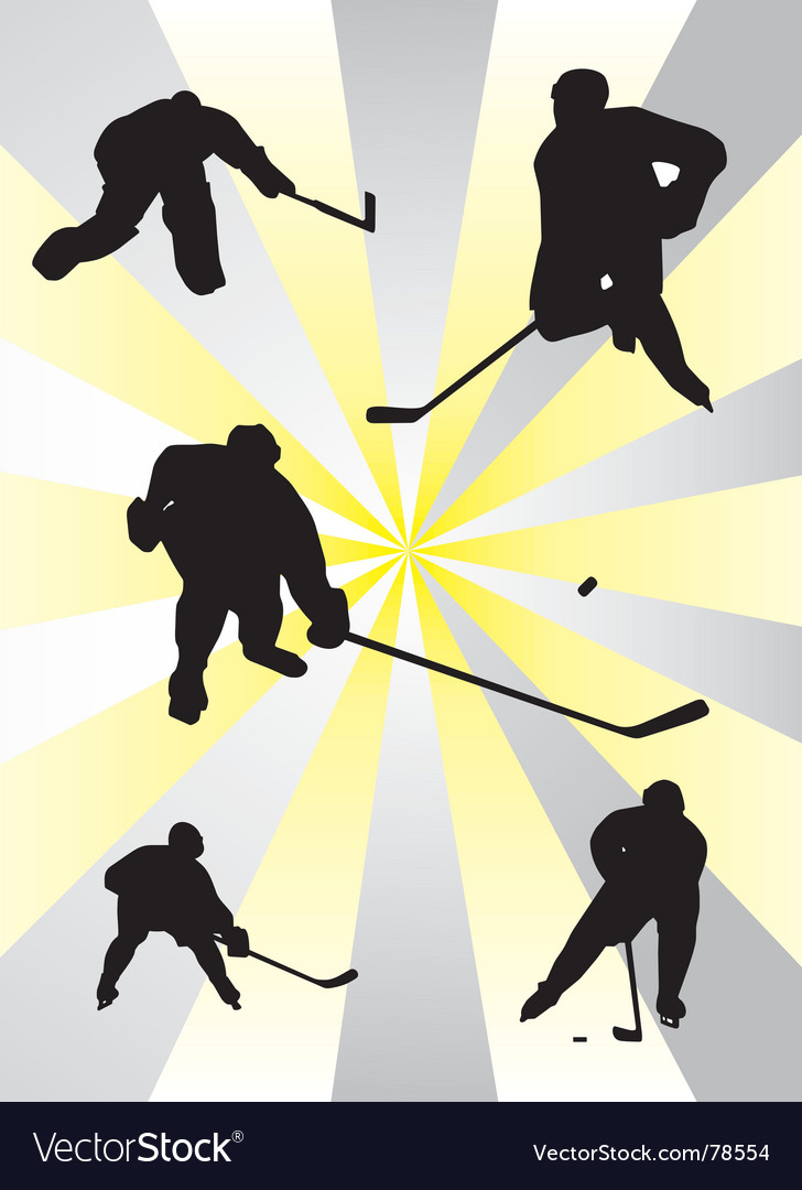 Nhl ice hockey vector | Price: 1 Credit (USD $1)