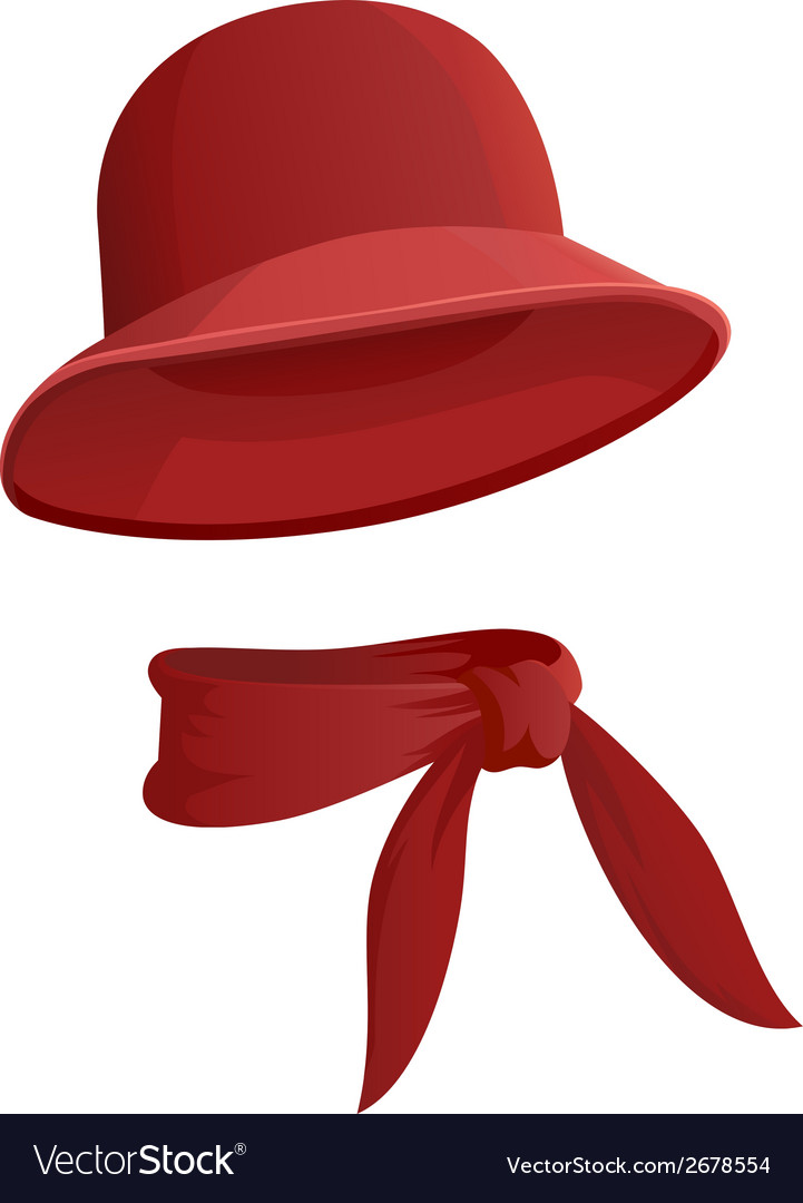 Round hat vector | Price: 1 Credit (USD $1)