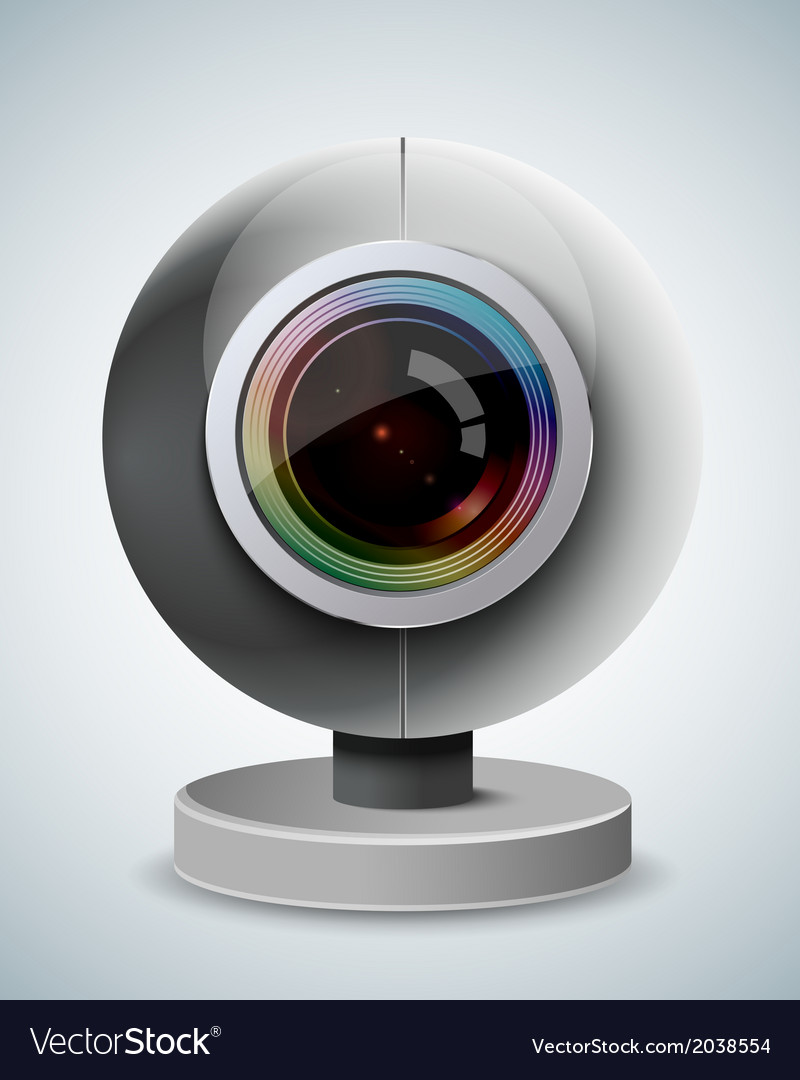 Webcam vector | Price: 1 Credit (USD $1)